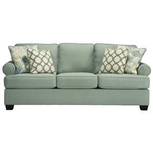 Signature Design by Ashley Daystar - Seafoam Queen Sofa Sleeper