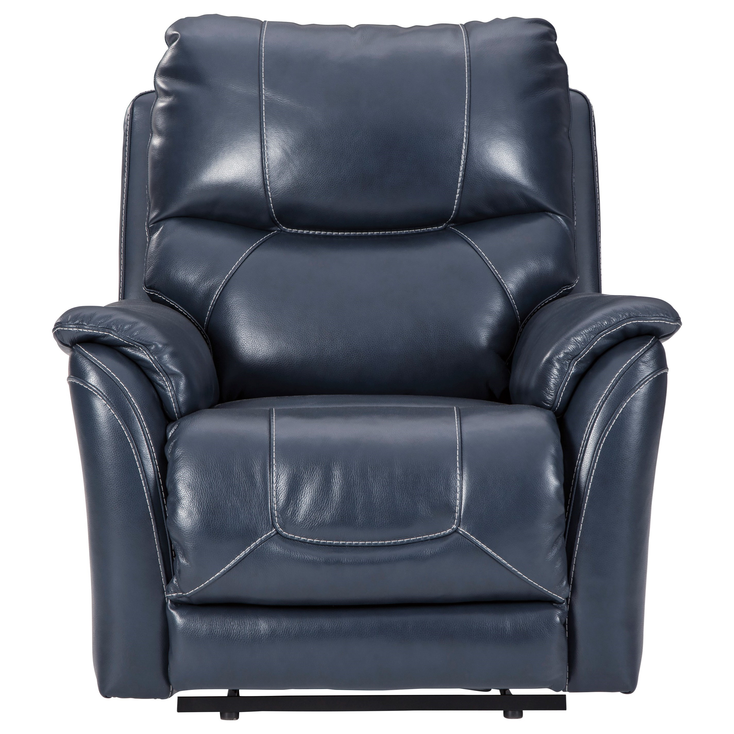 Dellington Power Recliner with Adjustable Headrest by Ashley Signature Design at Dunk & Bright Furniture