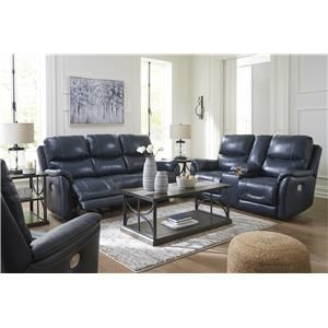 Power Reclining Sofa with Adjustable Headrest and Power Recliner witrh Adjustable Headrest