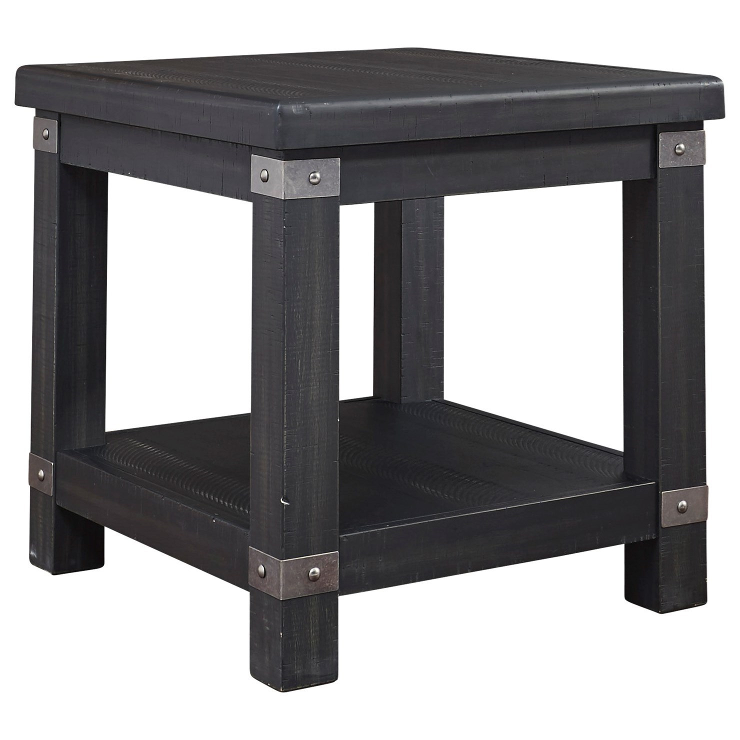 Delmar Rectangular End Table by Benchcraft at Virginia Furniture Market