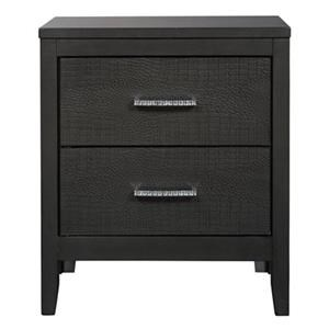 Delmont Two Drawer Nightstand