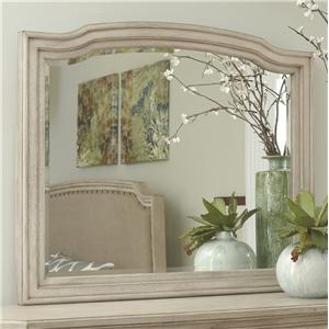 Bedroom Mirror with Shaped Frame