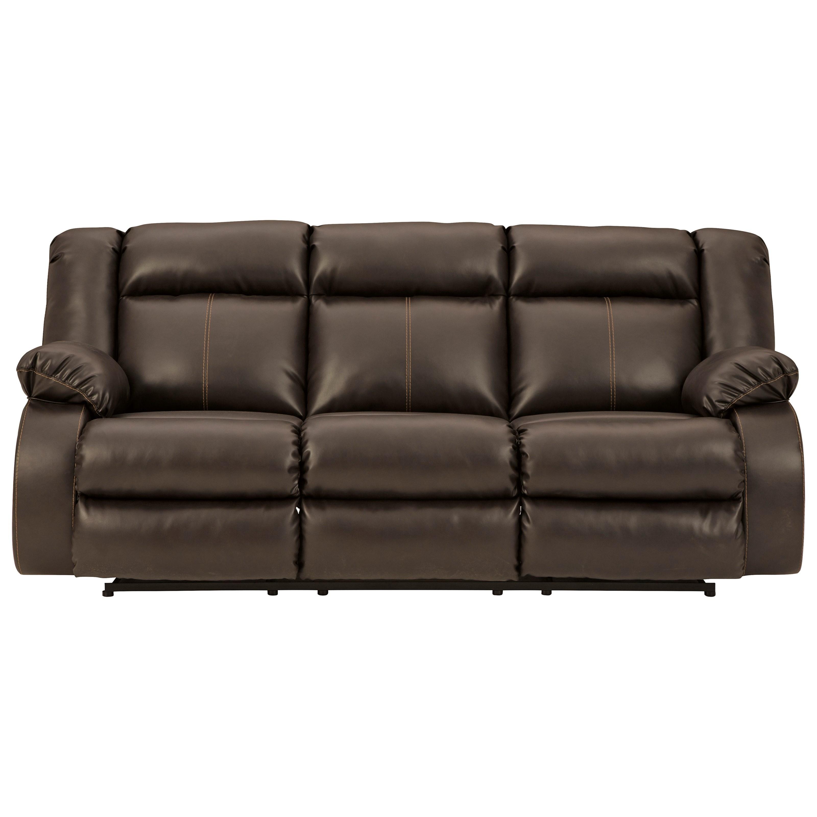 Denoron Power Reclining Sofa by Ashley (Signature Design) at Johnny Janosik