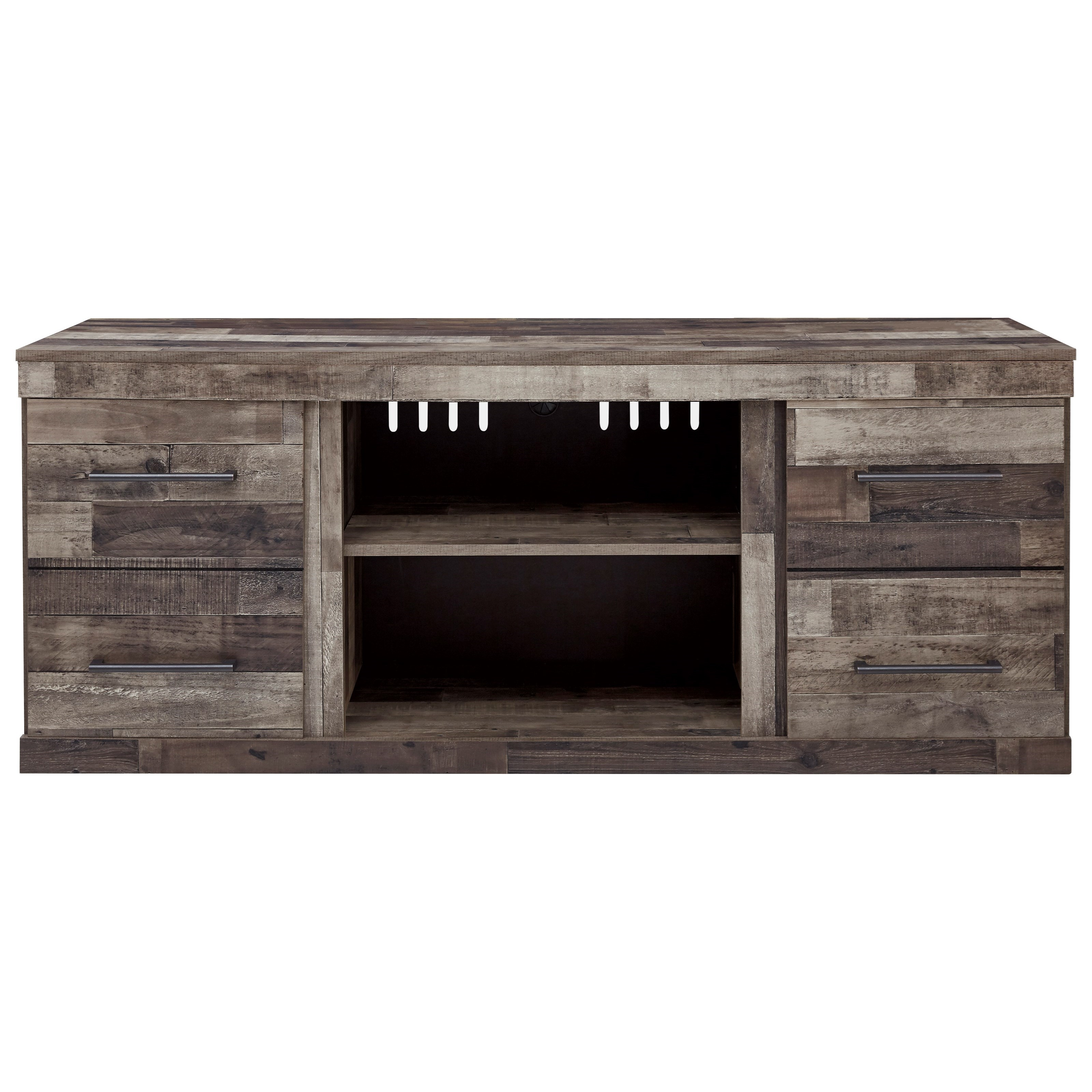 Derekson Large TV Stand by Signature Design by Ashley at Northeast Factory Direct