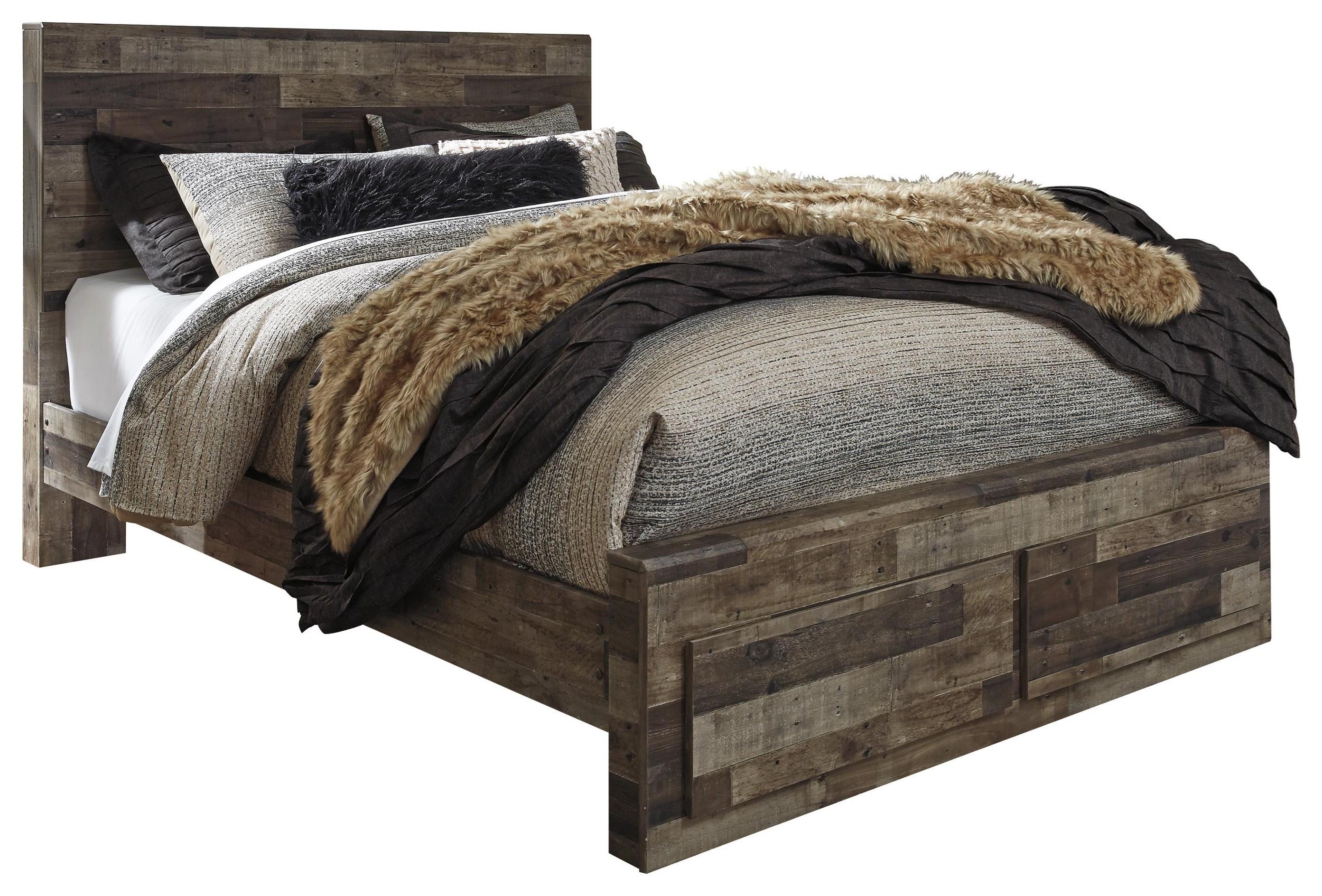 Derekson Derekson King Storage Bed by Ashley at Morris Home