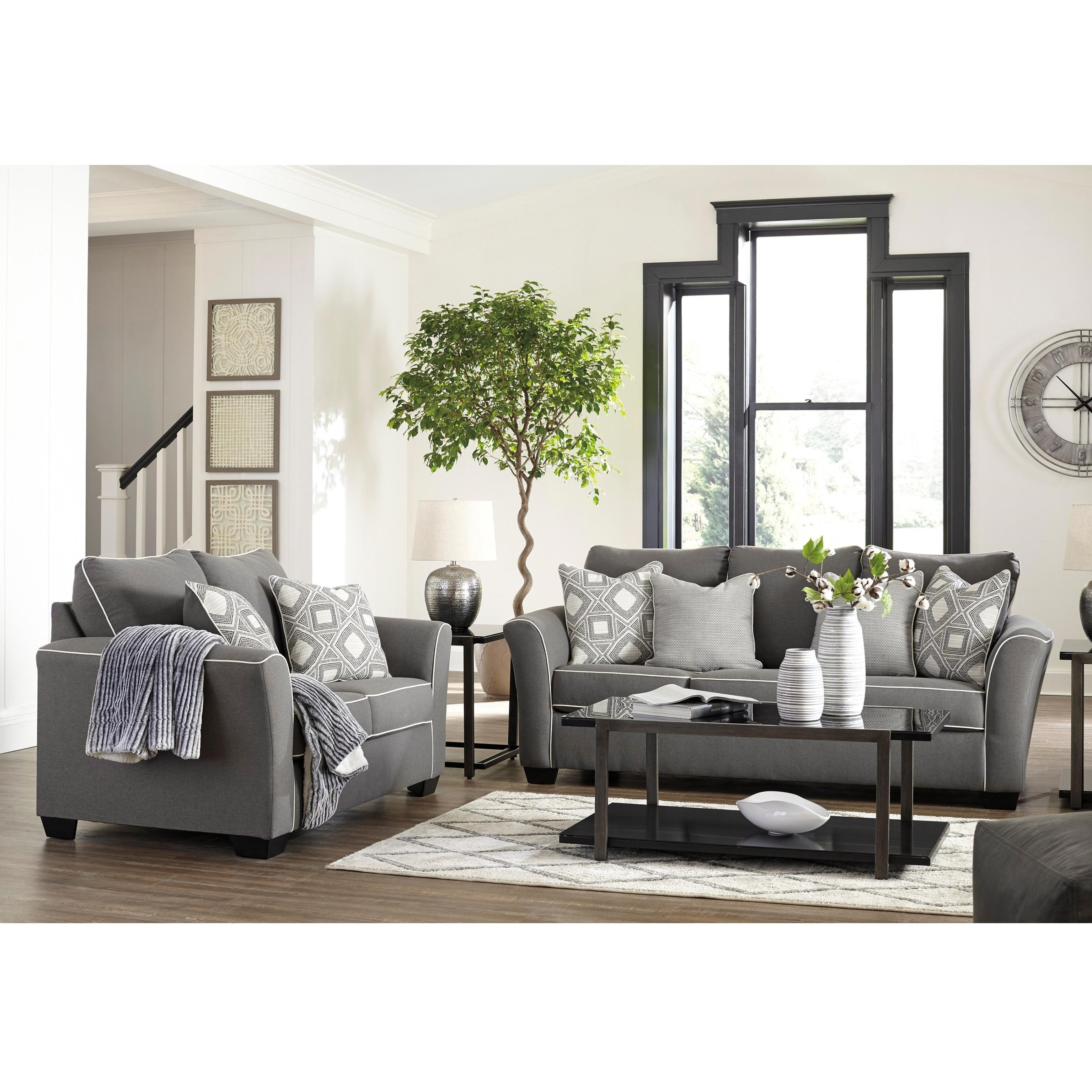 Domani Stationary Living Room Group by Signature Design by Ashley at Northeast Factory Direct