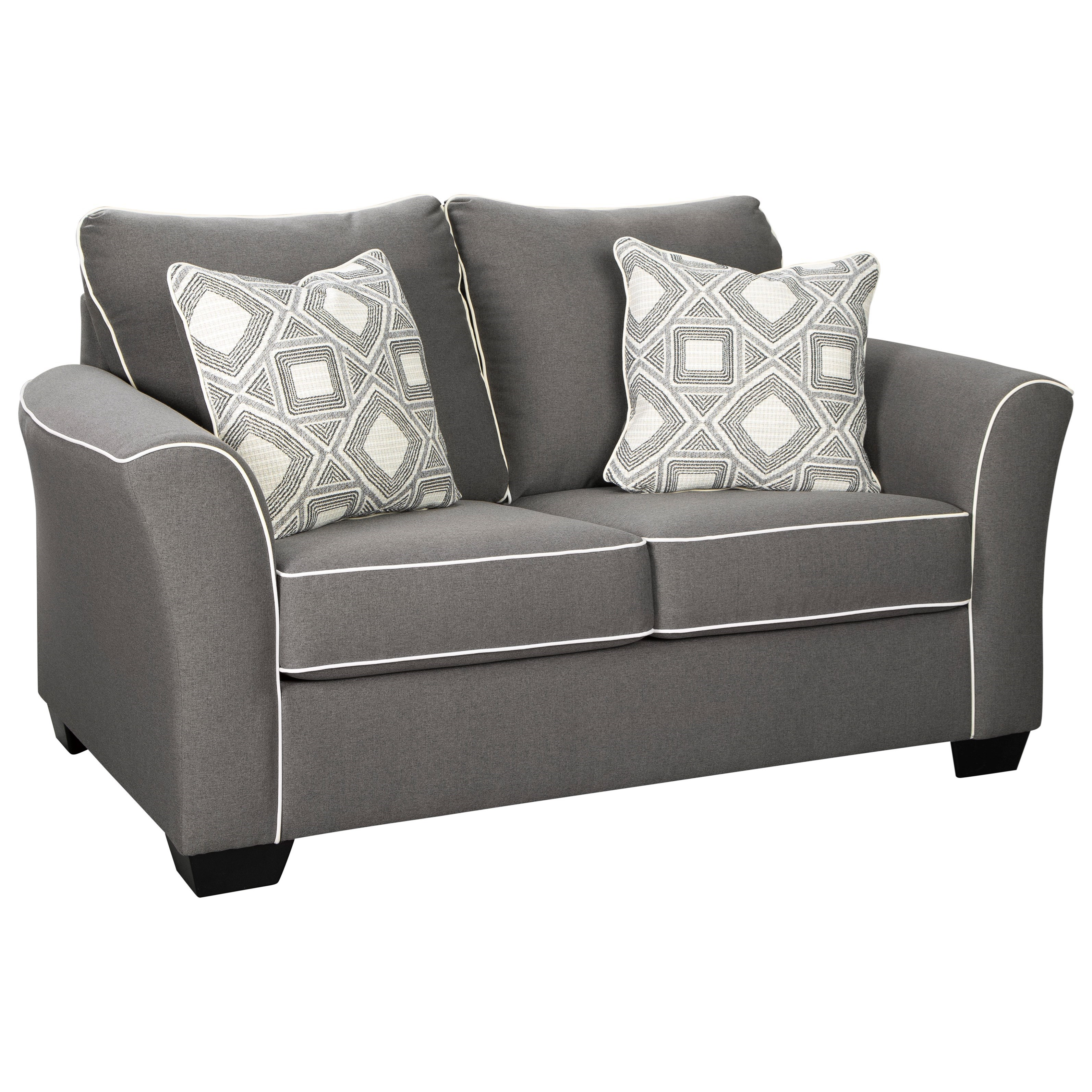 Domani Loveseat by Signature at Walker's Furniture