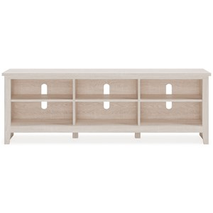 Extra Large TV Stand with 6 Compartments