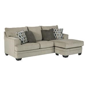 Sofa Chaise, Chair and Ottoman Set