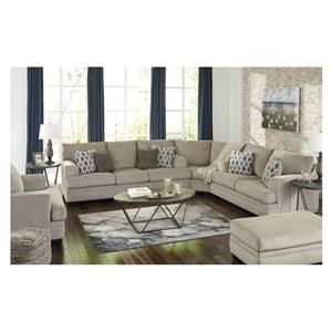 3 Piece Sectional and Chair Set