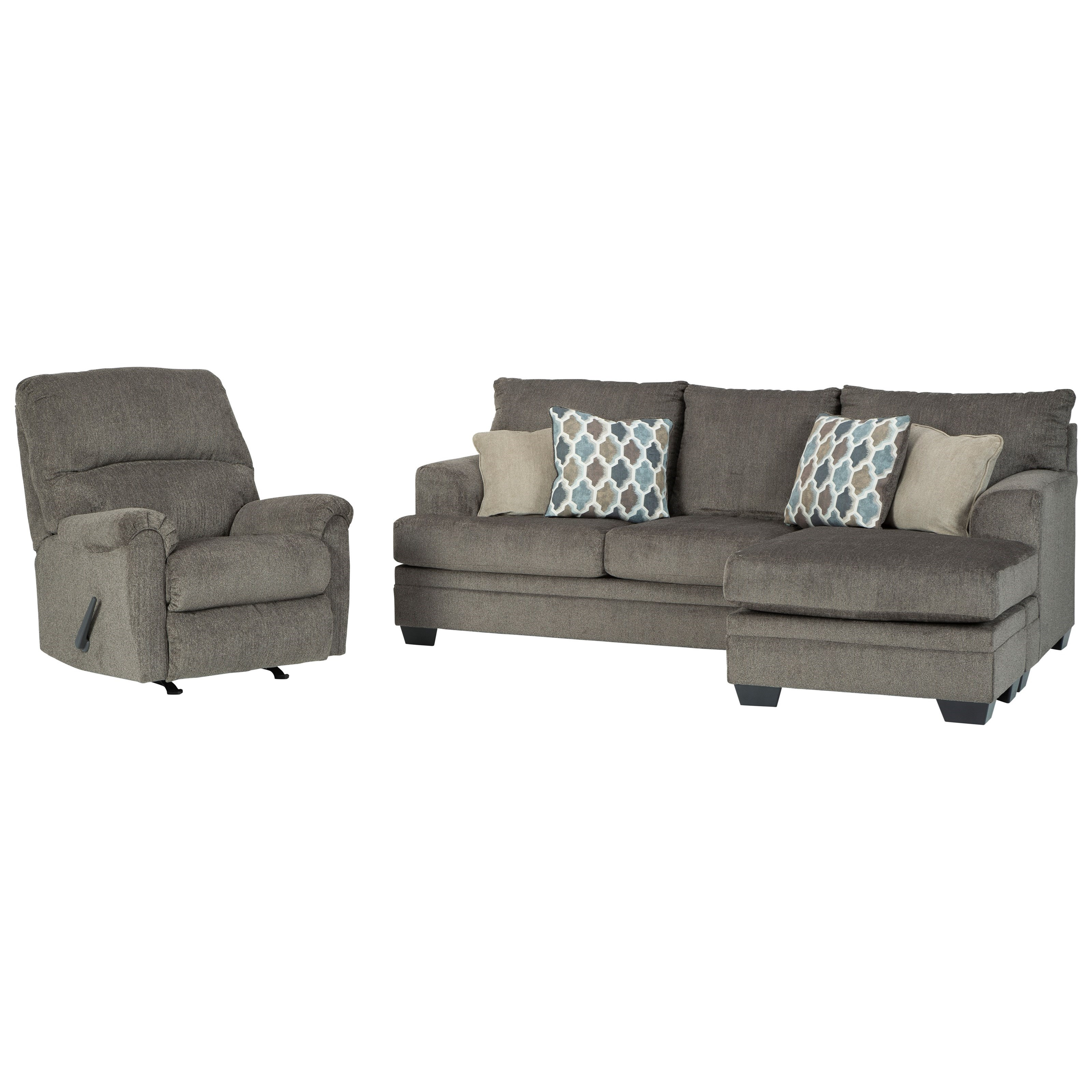 Dorsten Stationary Living Room Group by Signature Design by Ashley at Zak's Warehouse Clearance Center