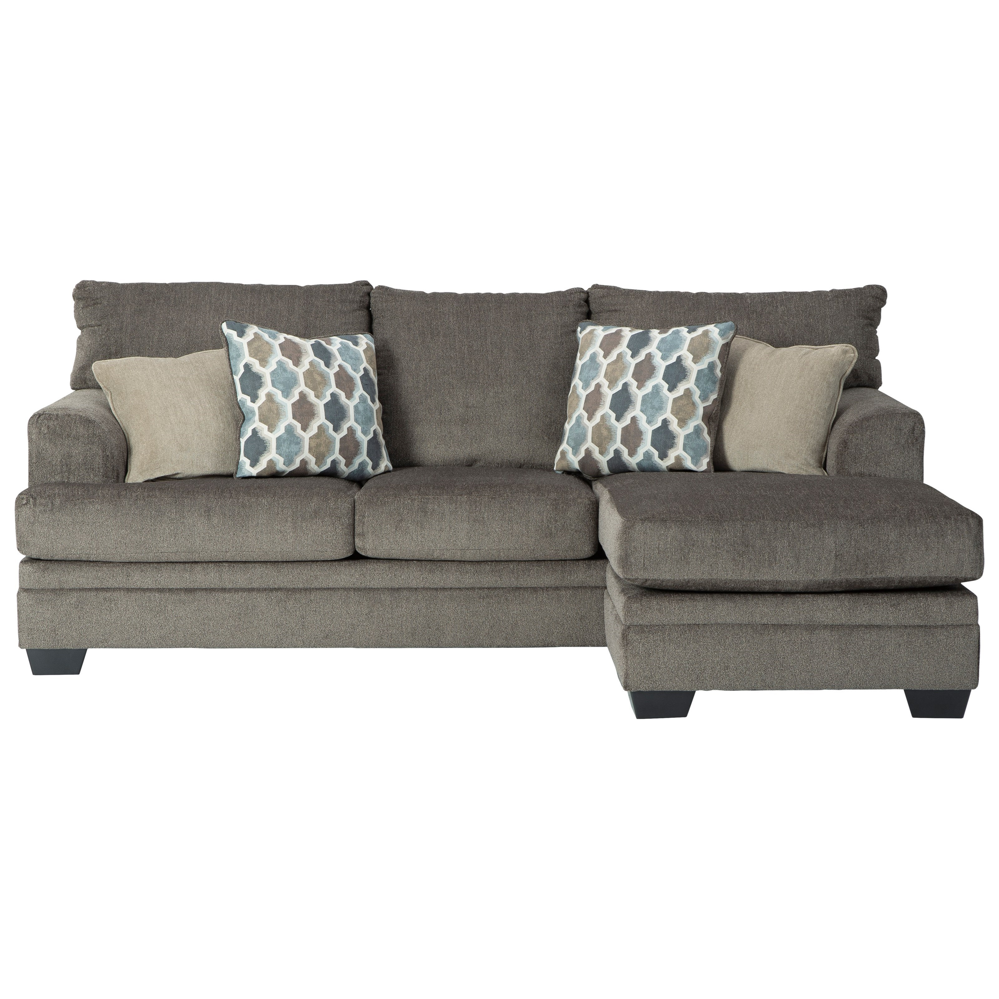 Dorsten Sofa with Chaise by Signature Design by Ashley at Beck's Furniture