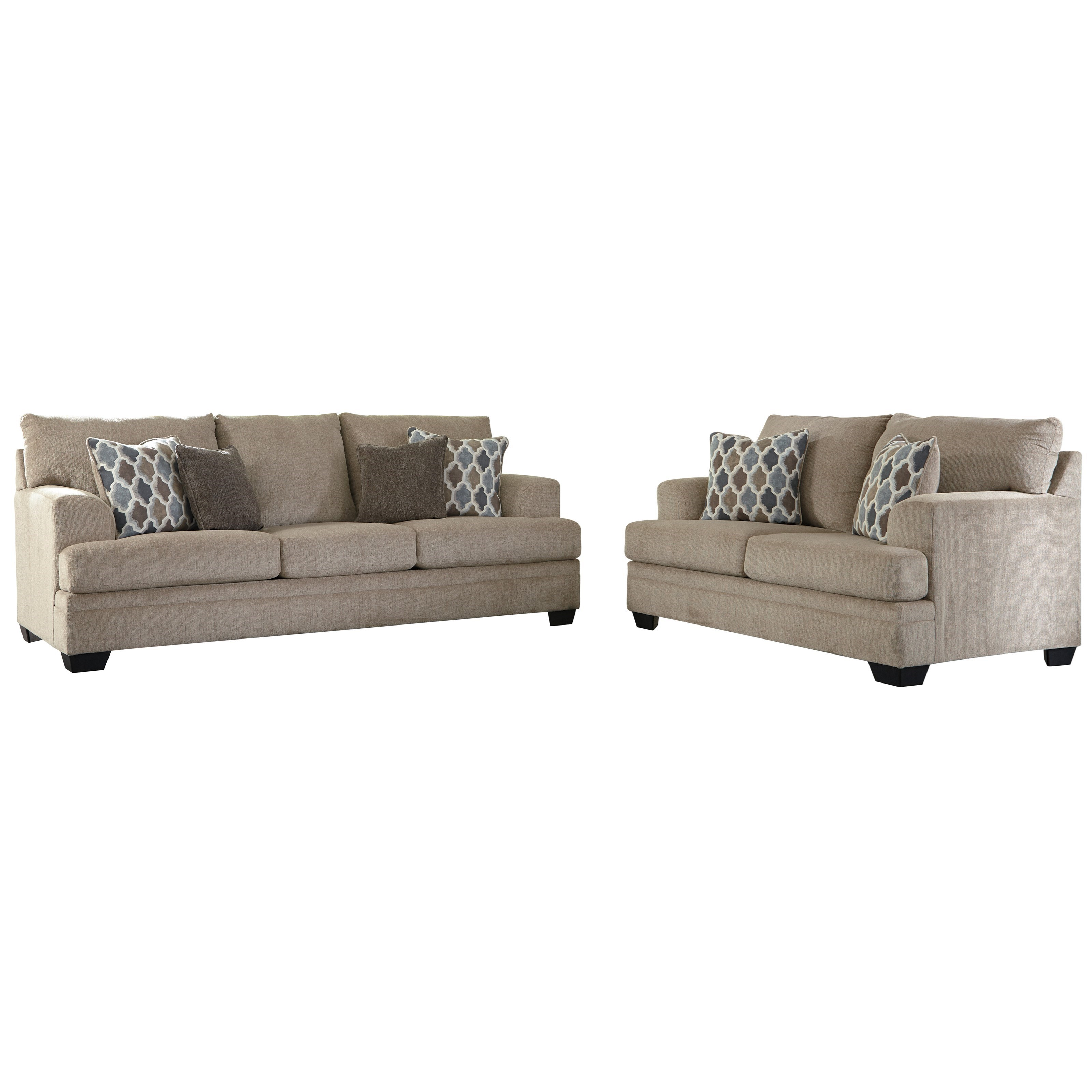 Dorsten Stationary Living Room Group by Signature Design by Ashley at Miller Waldrop Furniture and Decor