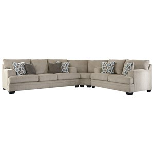 Contemporary 3-Piece Sectional