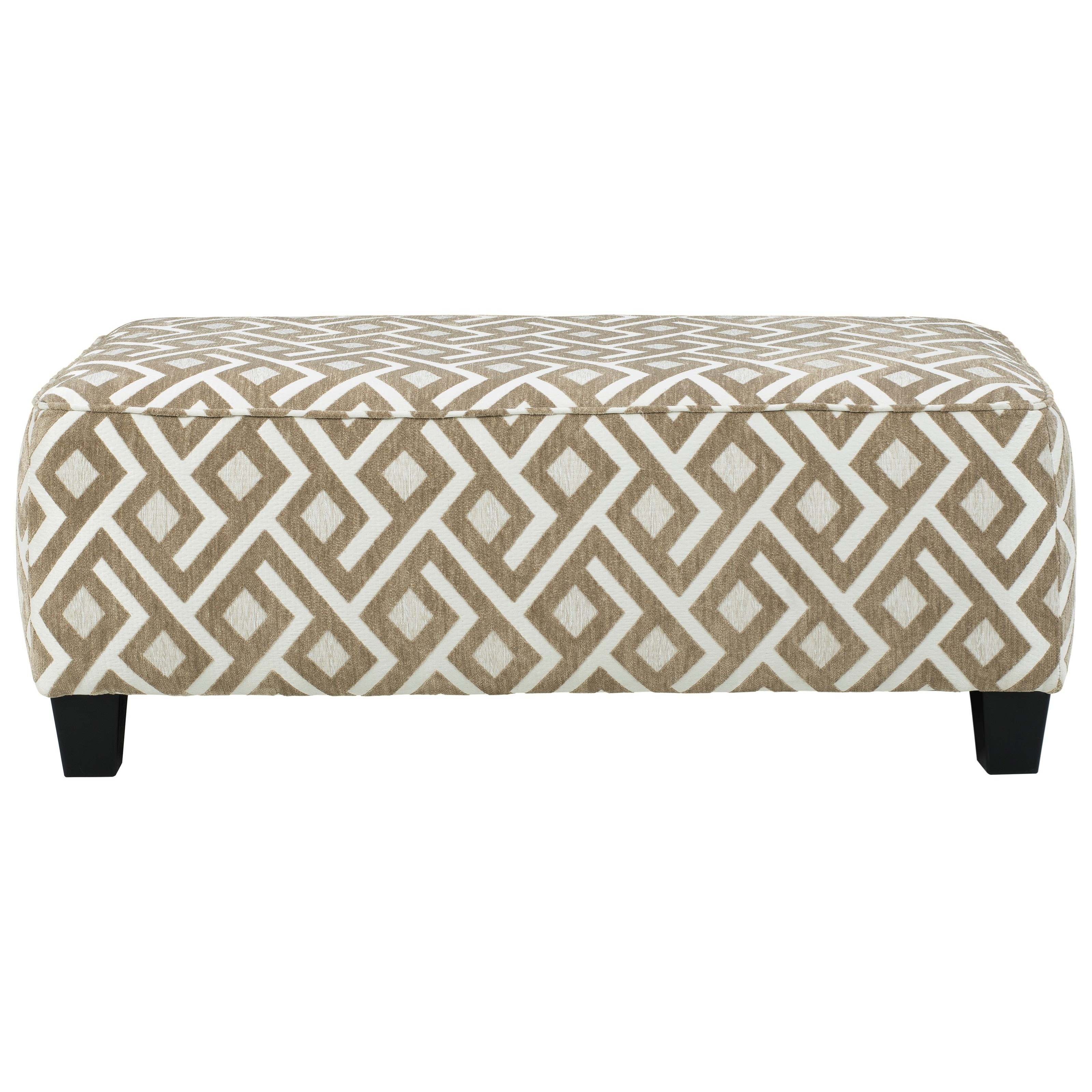 Dovemont Oversized Accent Ottoman by Signature Design by Ashley at Zak's Warehouse Clearance Center