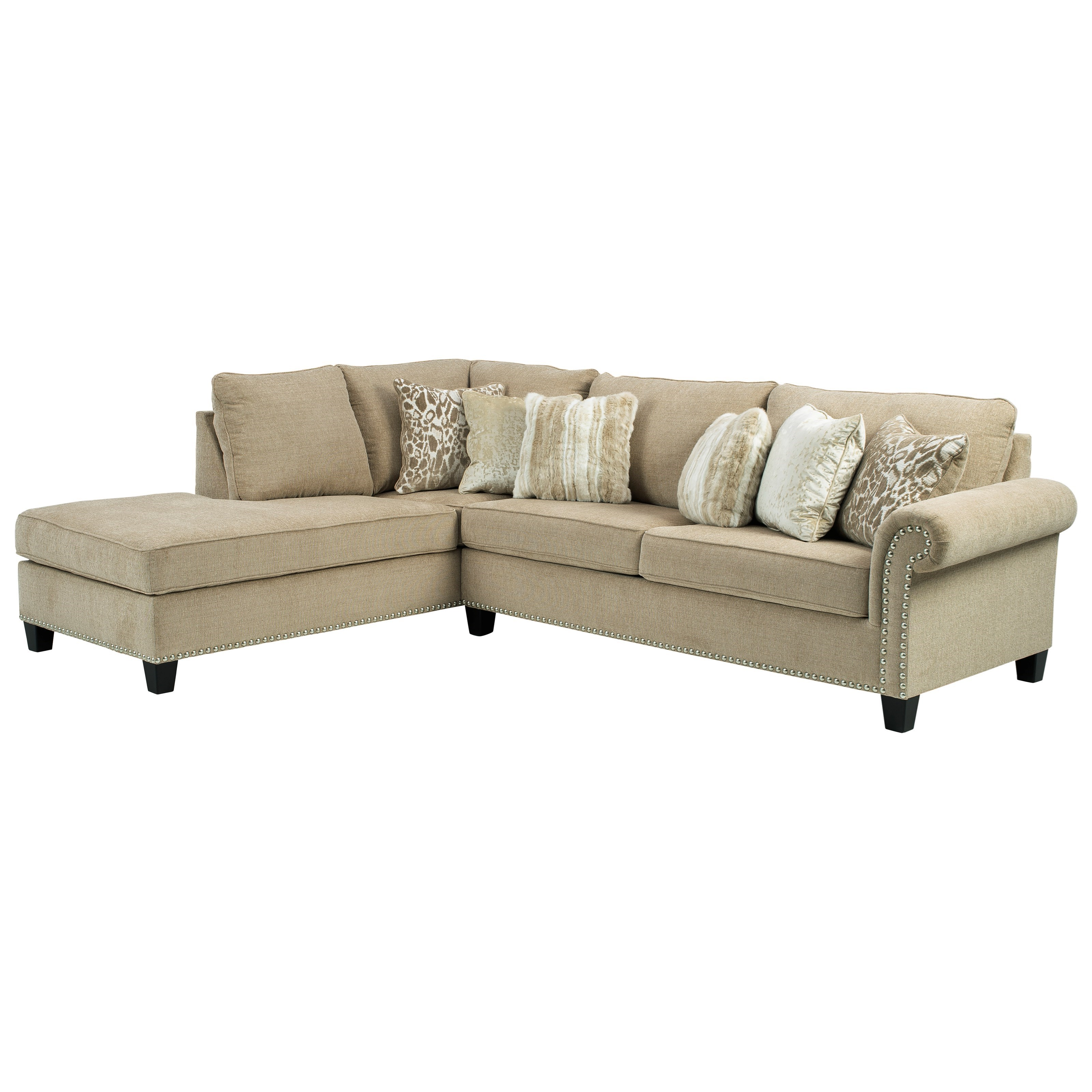 Dovemont 2-Piece Sectional with Left Chaise by Ashley (Signature Design) at Johnny Janosik