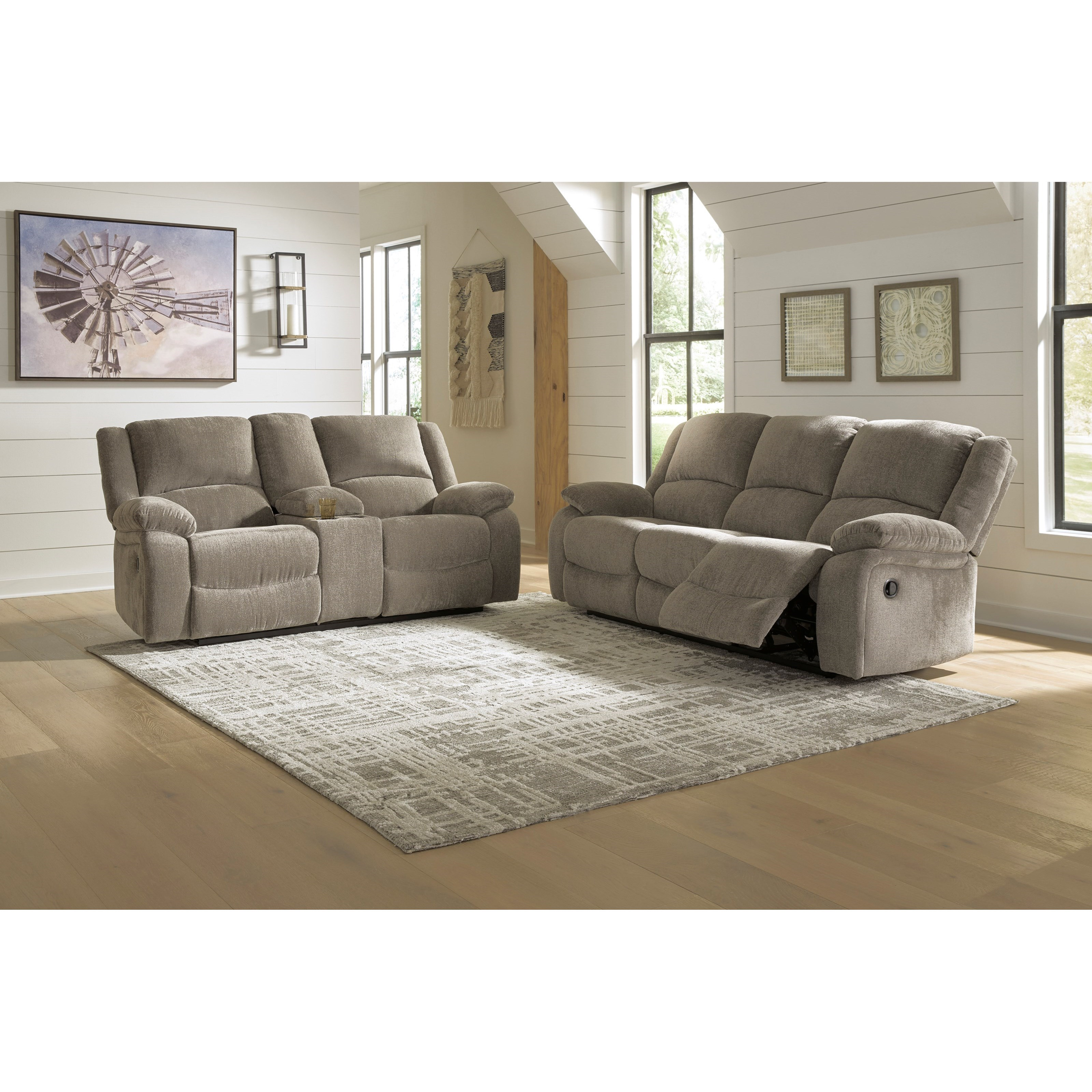 Draycoll Reclining Living Room Group by Signature Design by Ashley at Zak's Warehouse Clearance Center