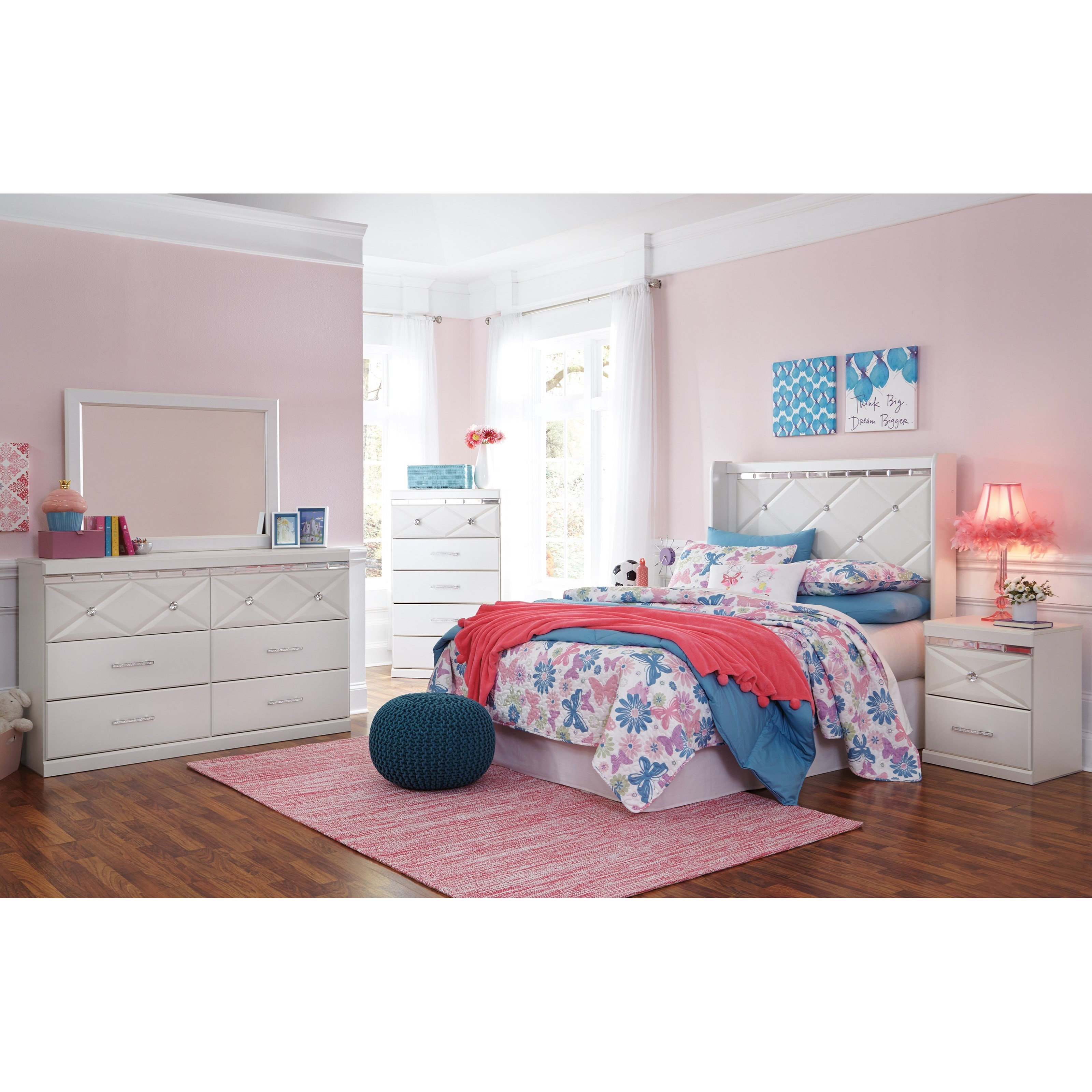 Dreamur Full Bedroom Group by Signature Design by Ashley at Standard Furniture