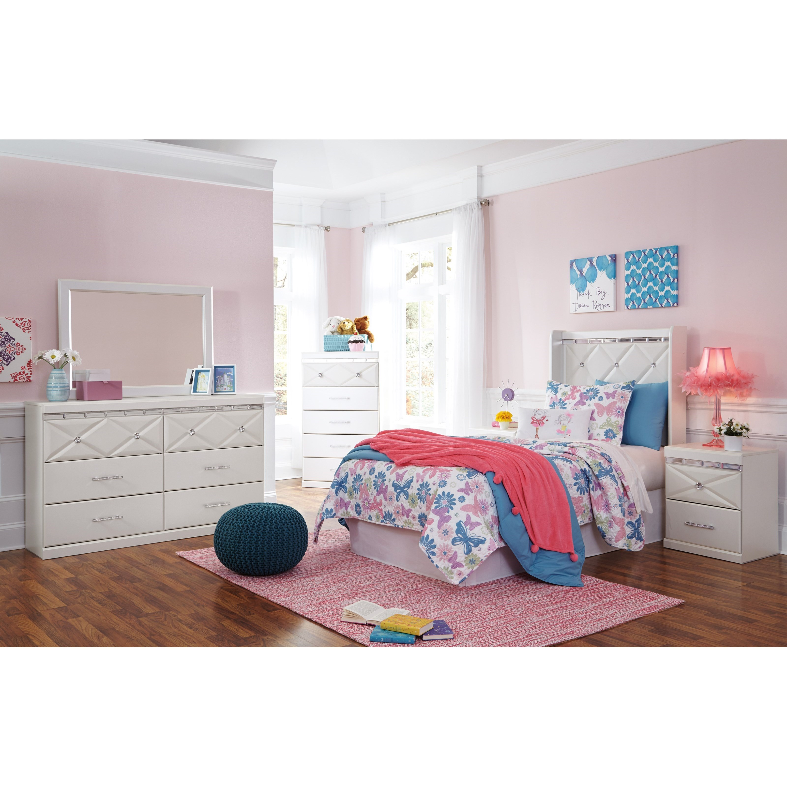 Dreamur Twin Bedroom Group by Signature Design by Ashley at Northeast Factory Direct
