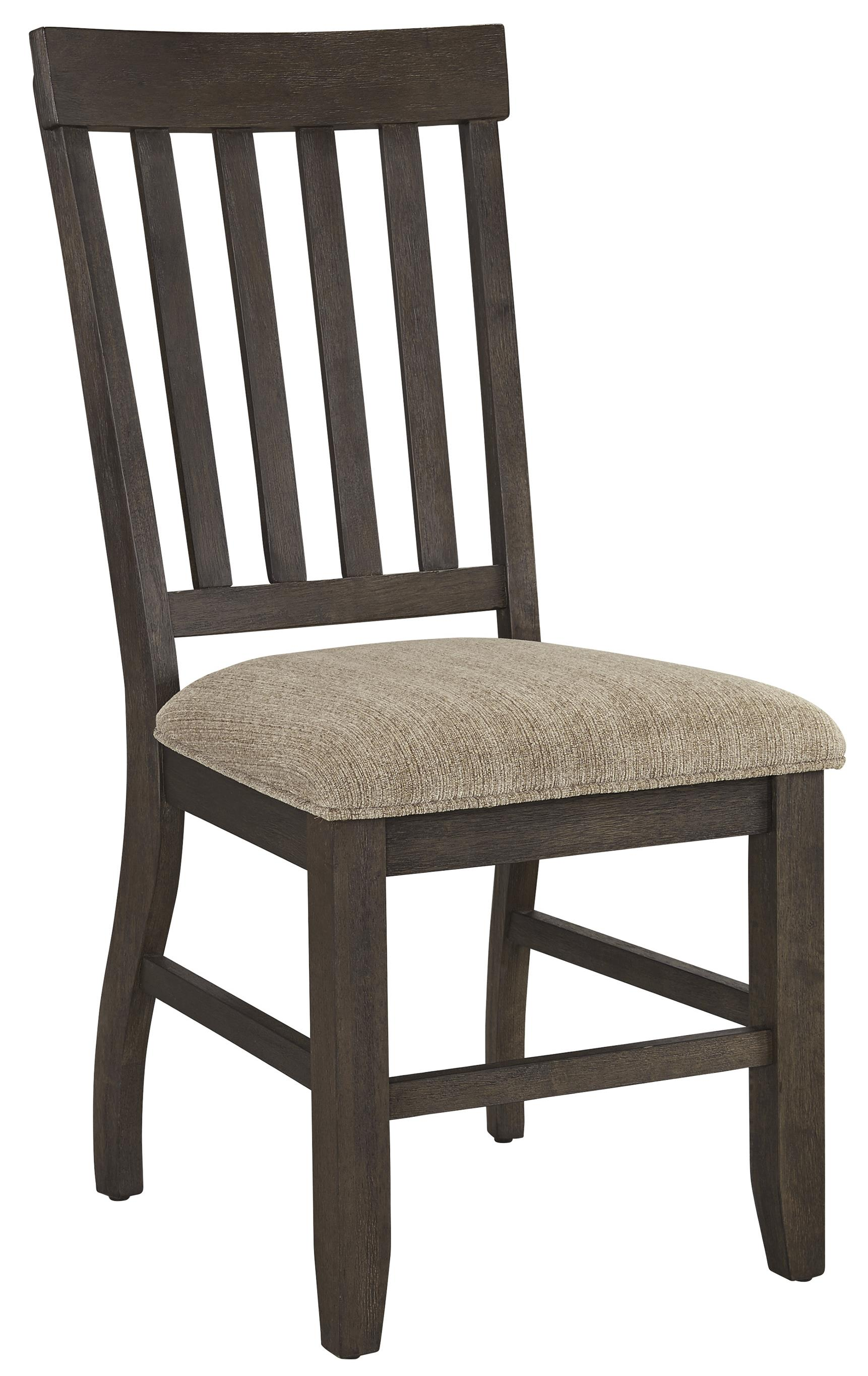 Dresbar Dining Upholstered Side Chair by Signature Design at Fisher Home Furnishings