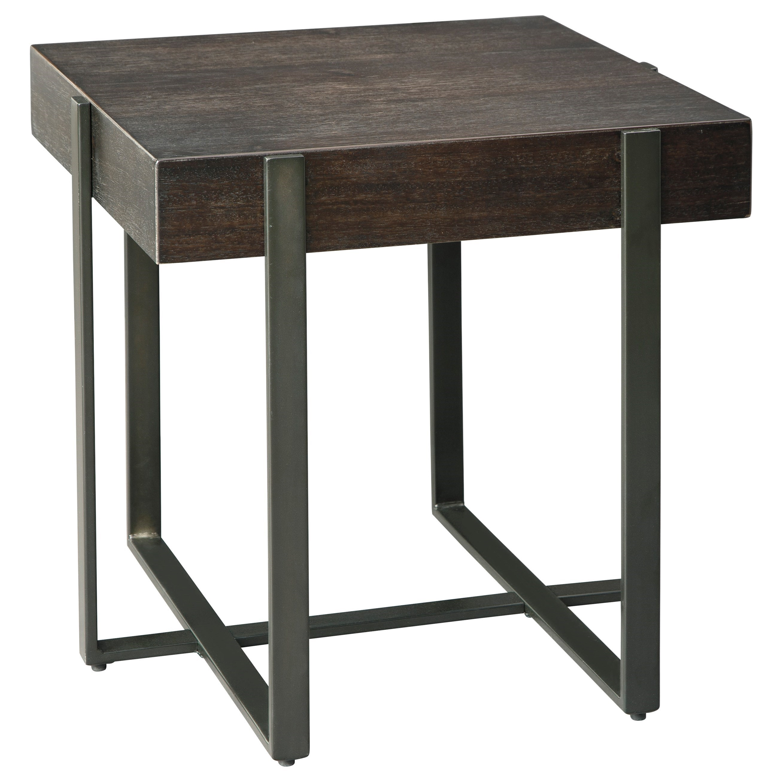 Drewing Square End Table by Signature Design by Ashley at Beck's Furniture