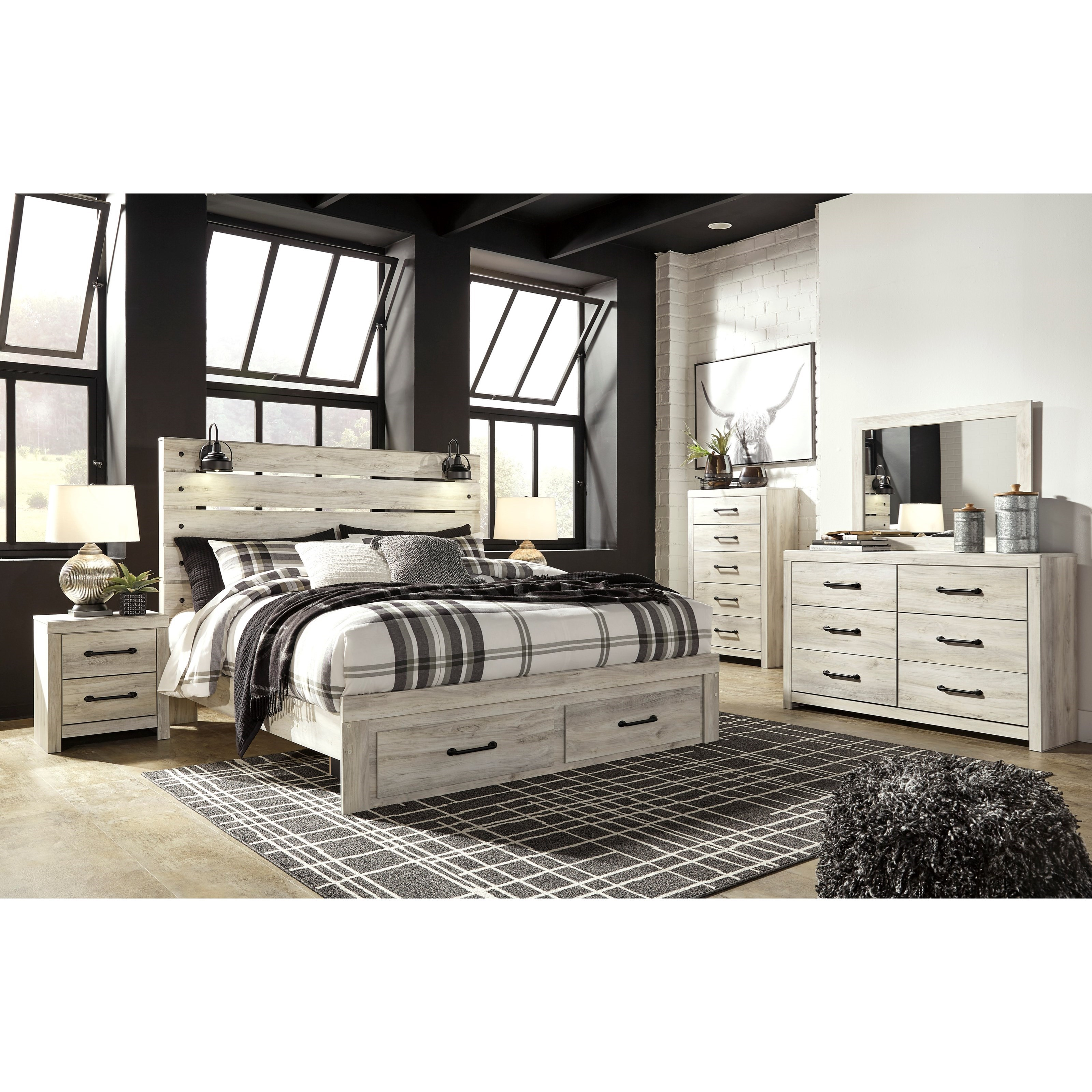 Cambeck King Bedroom Group by Signature Design by Ashley at Northeast Factory Direct
