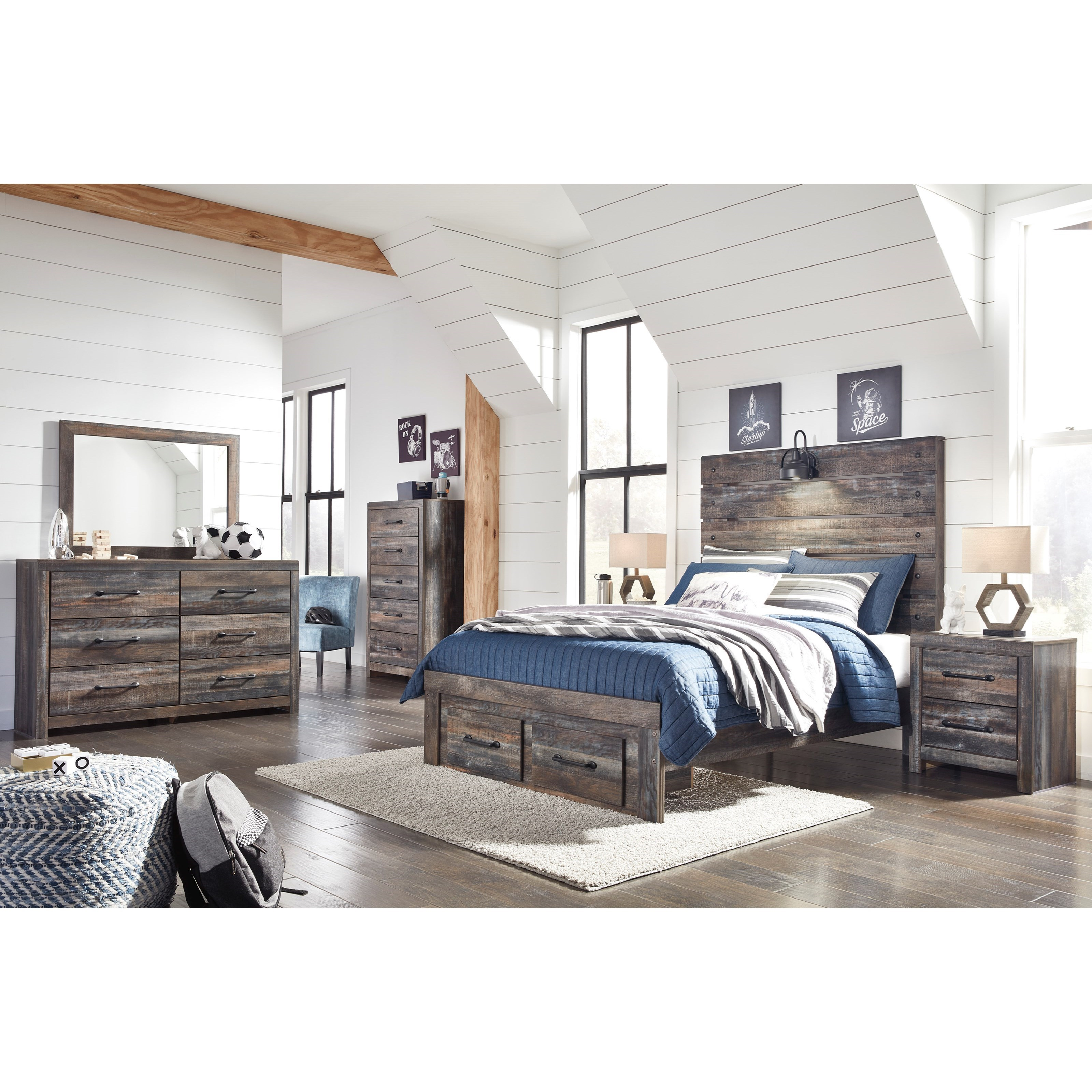 Drystan Full Bedroom Group by Ashley (Signature Design) at Johnny Janosik