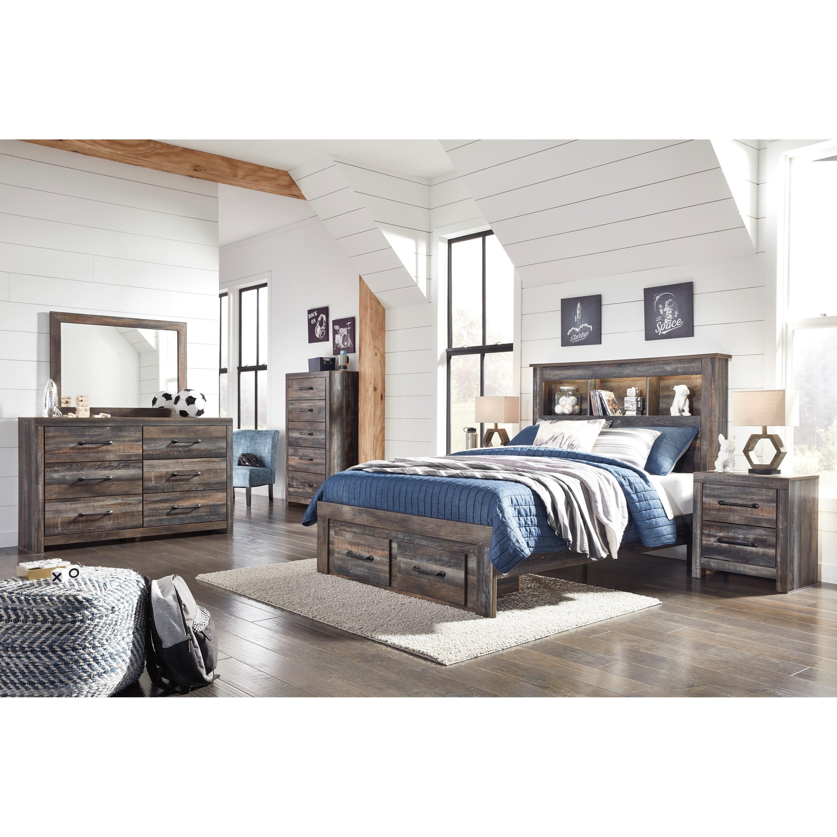 Duncan Full Bedroom Group at Ruby Gordon Home
