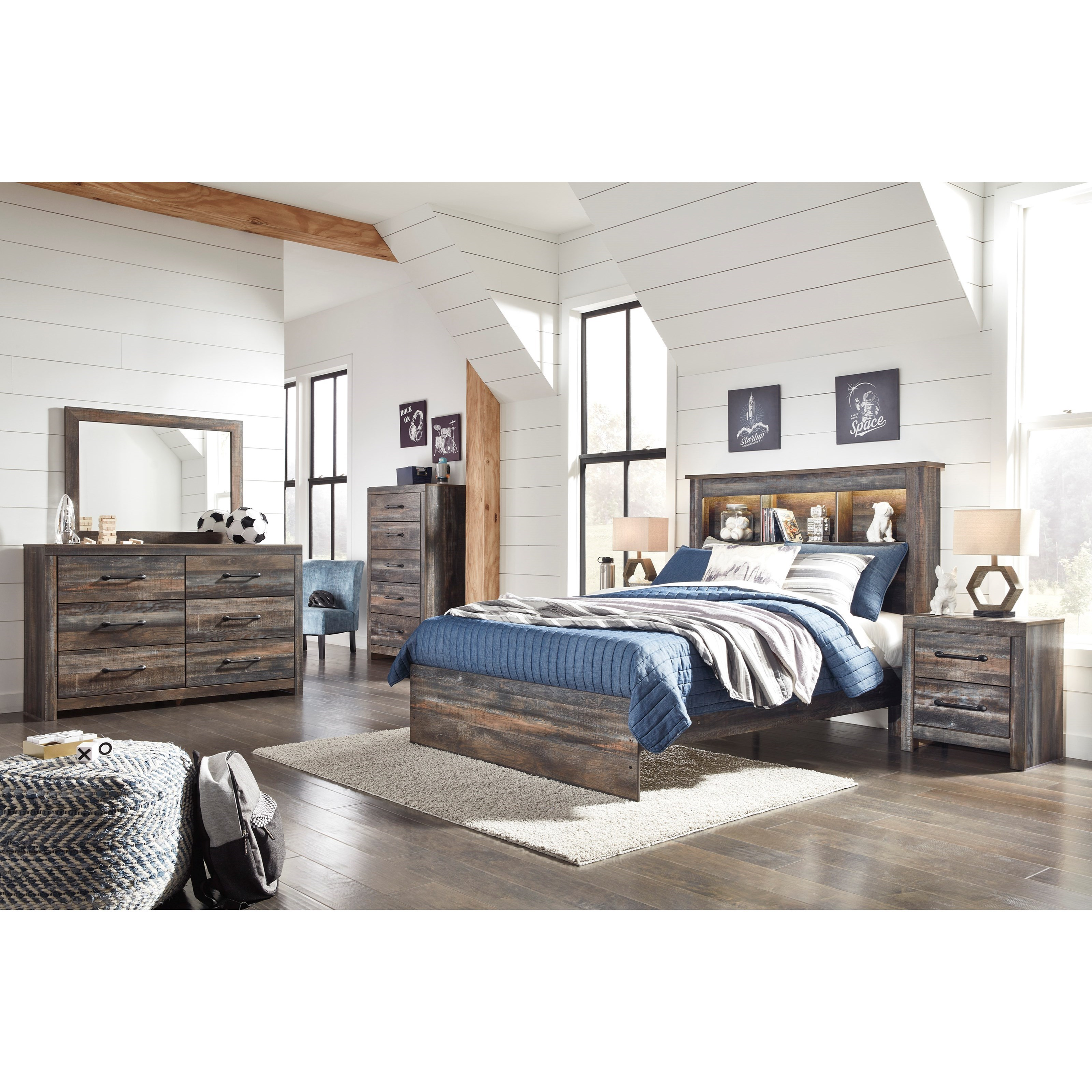 Drystan King Bedroom Group by Signature Design by Ashley at Northeast Factory Direct