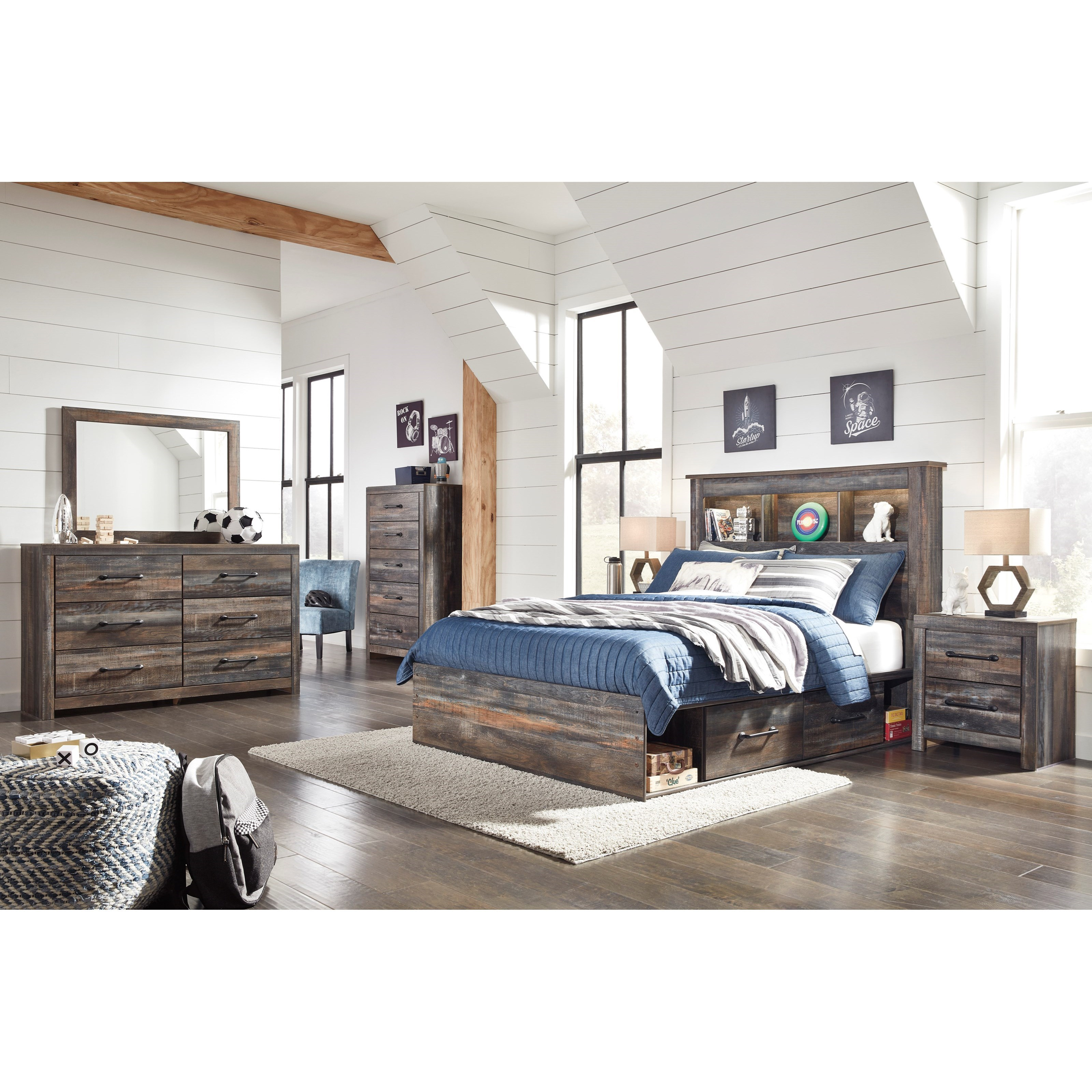 Drystan Full Bedroom Group by Signature Design by Ashley at Sparks HomeStore