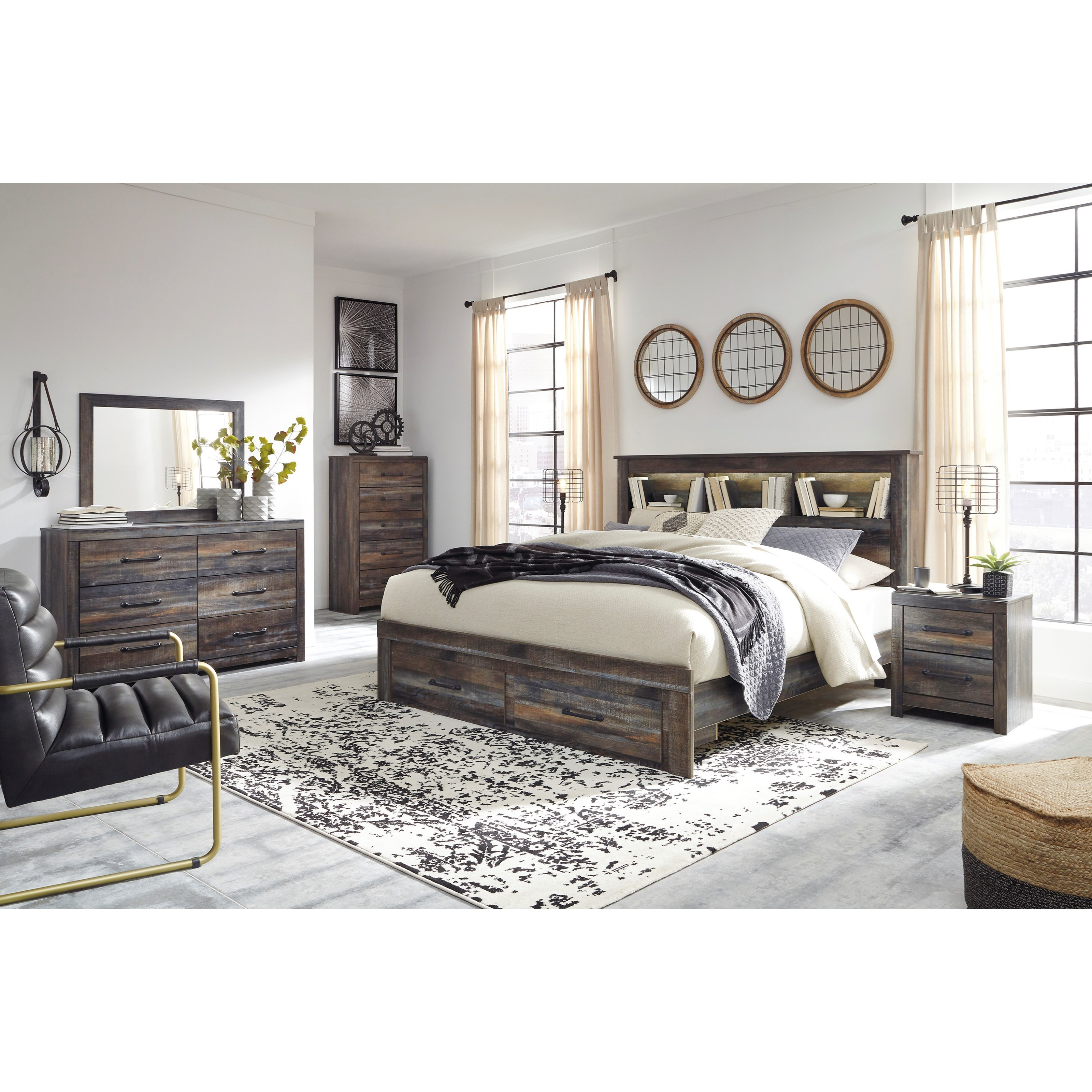 Drystan King Bedroom Group by Signature Design by Ashley at Beds N Stuff