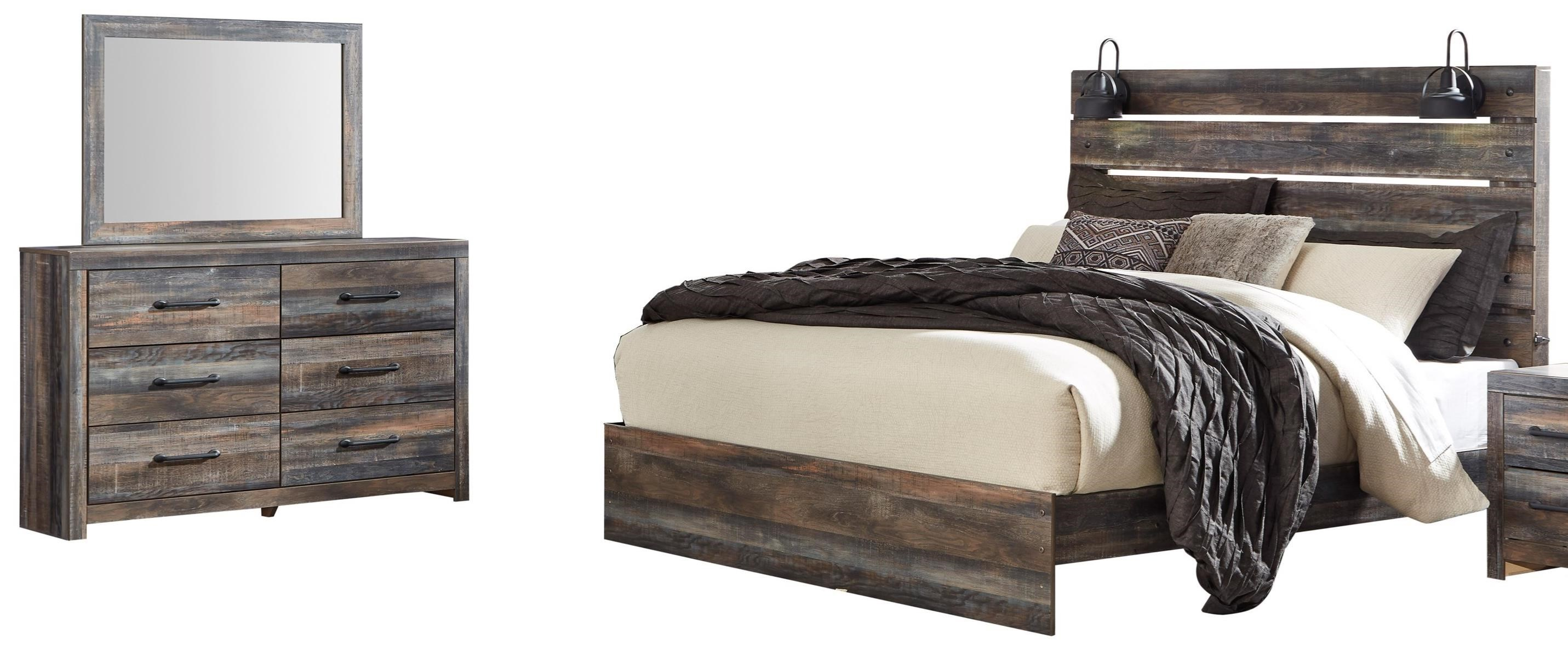 Drystan King Bedroom Group by Ashley (Signature Design) at Johnny Janosik
