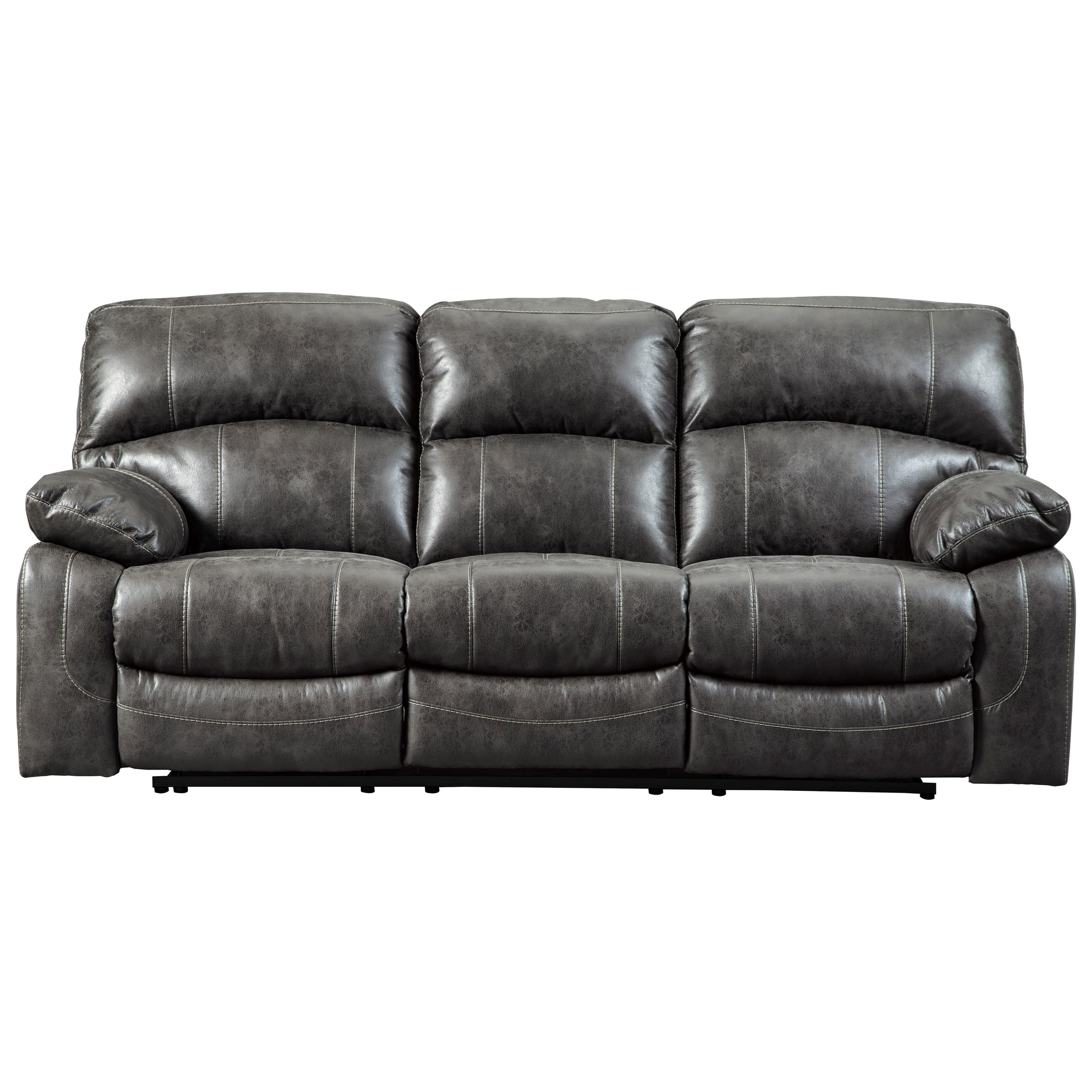 Dunwell Power Reclining Sofa w/ Adjustable Headrests by Signature Design by Ashley at Northeast Factory Direct