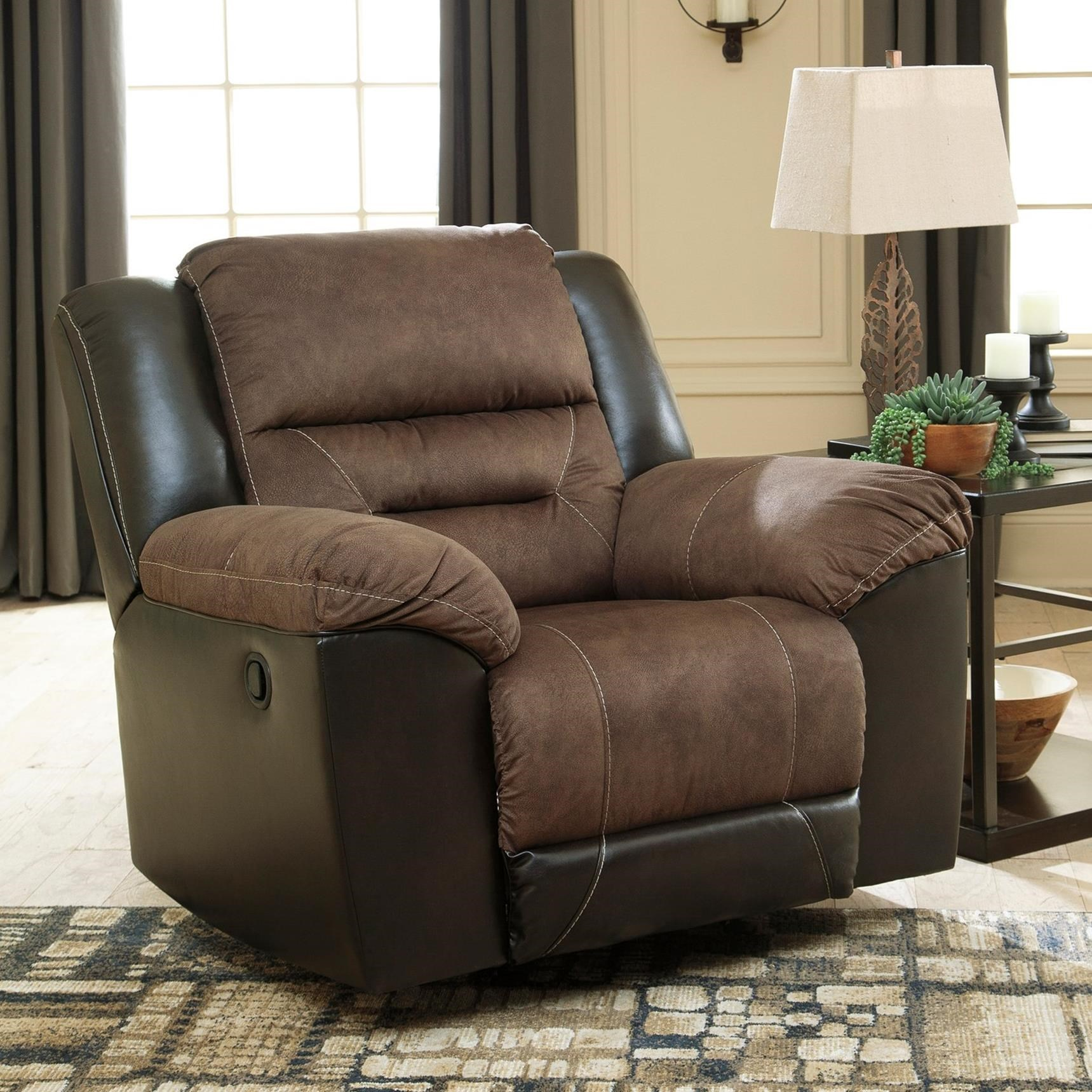 Earhart Rocker Recliner by Signature Design by Ashley at Houston's Yuma Furniture