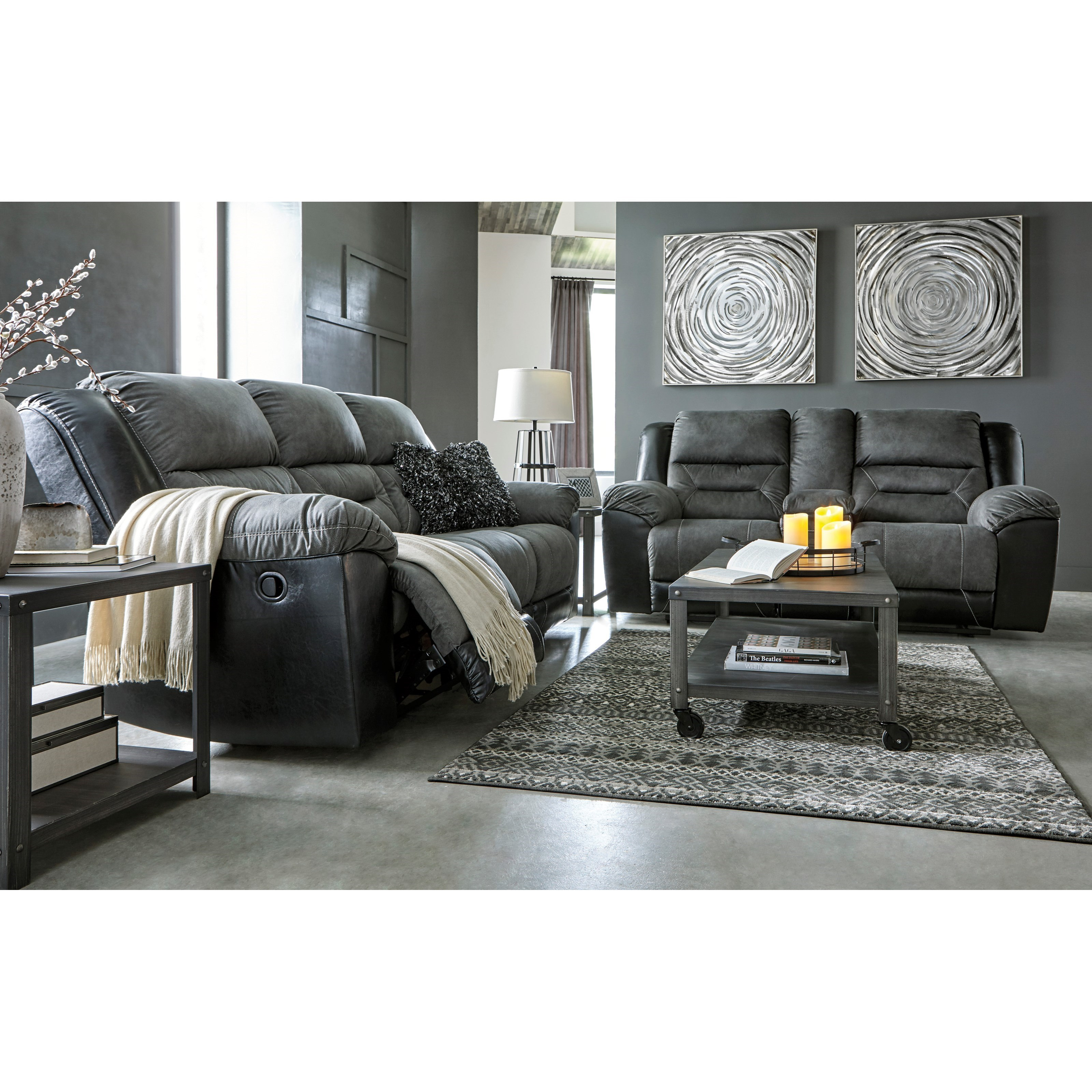Earhart Reclining Living Room Group by Ashley (Signature Design) at Johnny Janosik