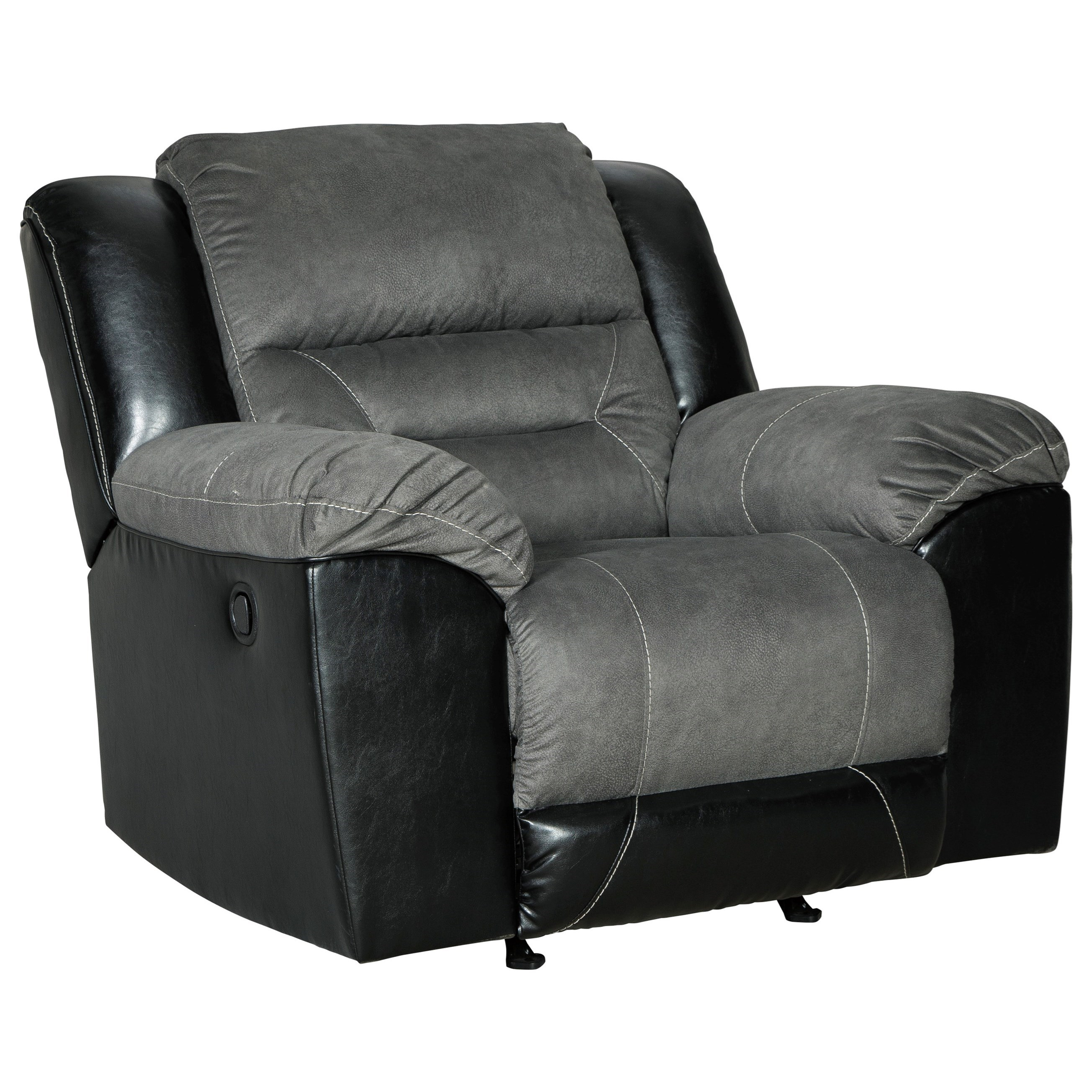 Earhart Rocker Recliner by Signature Design by Ashley at Lindy's Furniture Company