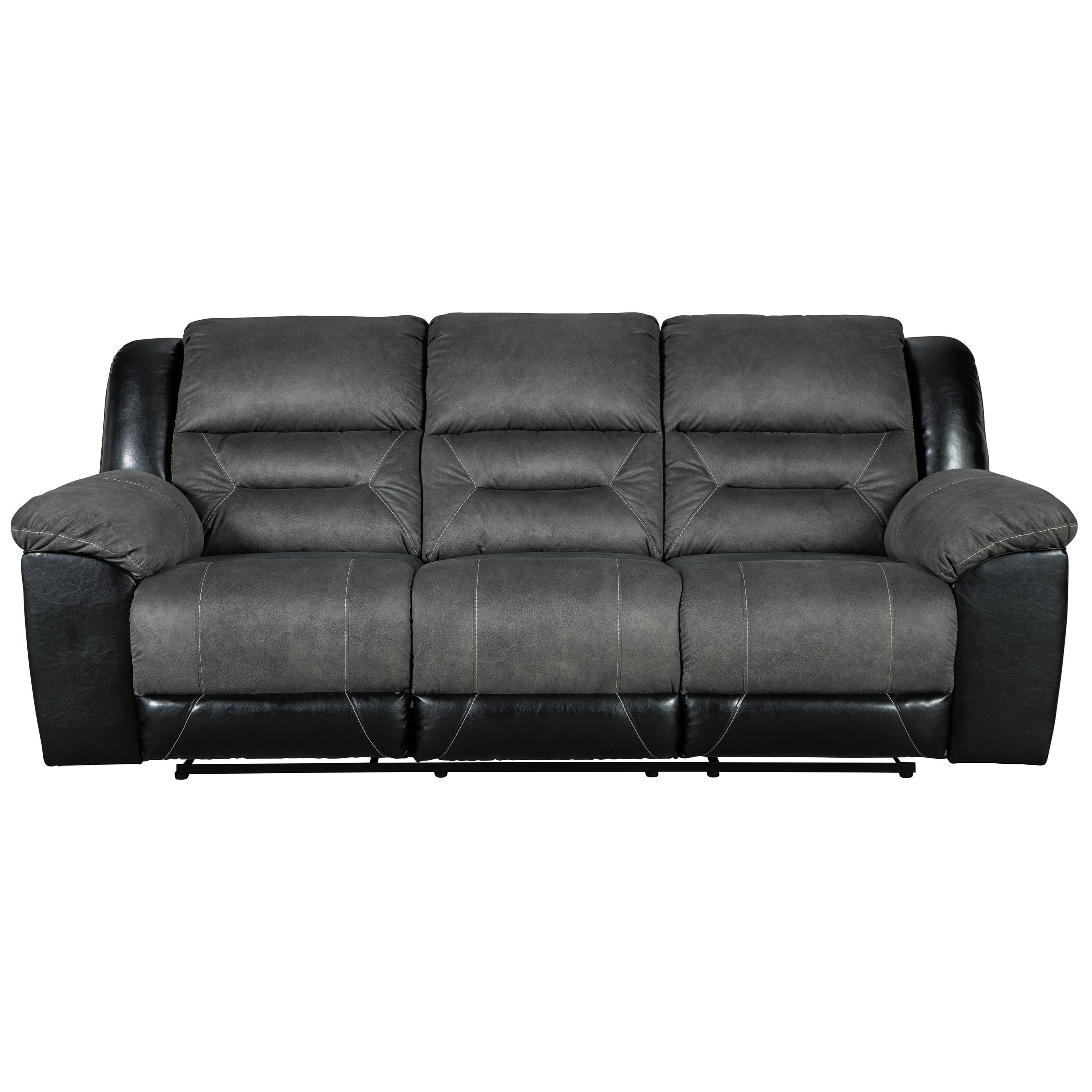Earhart Reclining Sofa by Ashley (Signature Design) at Johnny Janosik
