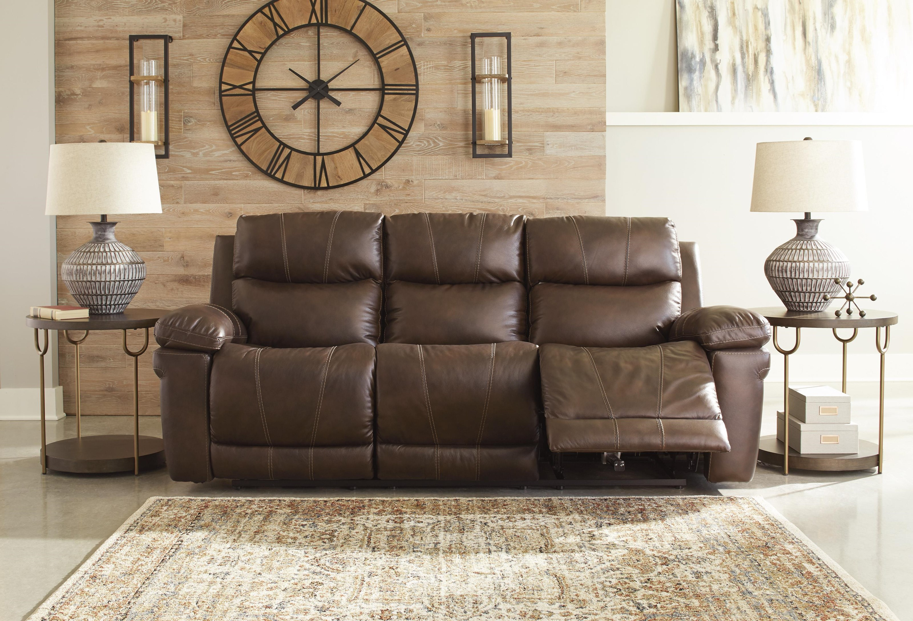 Edmar Power Reclining Sofa by Signature Design by Ashley at Sam Levitz Furniture