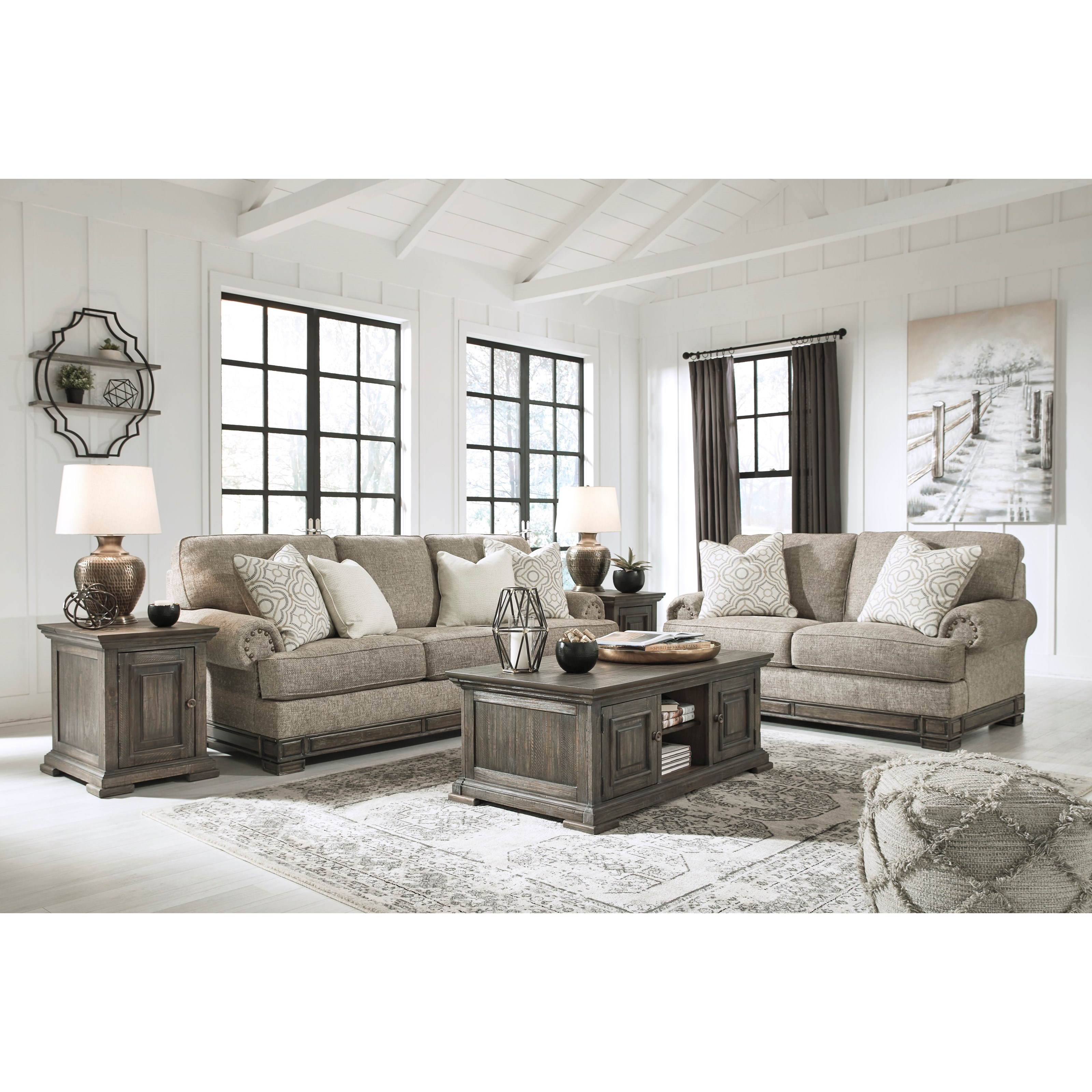Einsgrove Stationary Living Room Group by Ashley (Signature Design) at Johnny Janosik