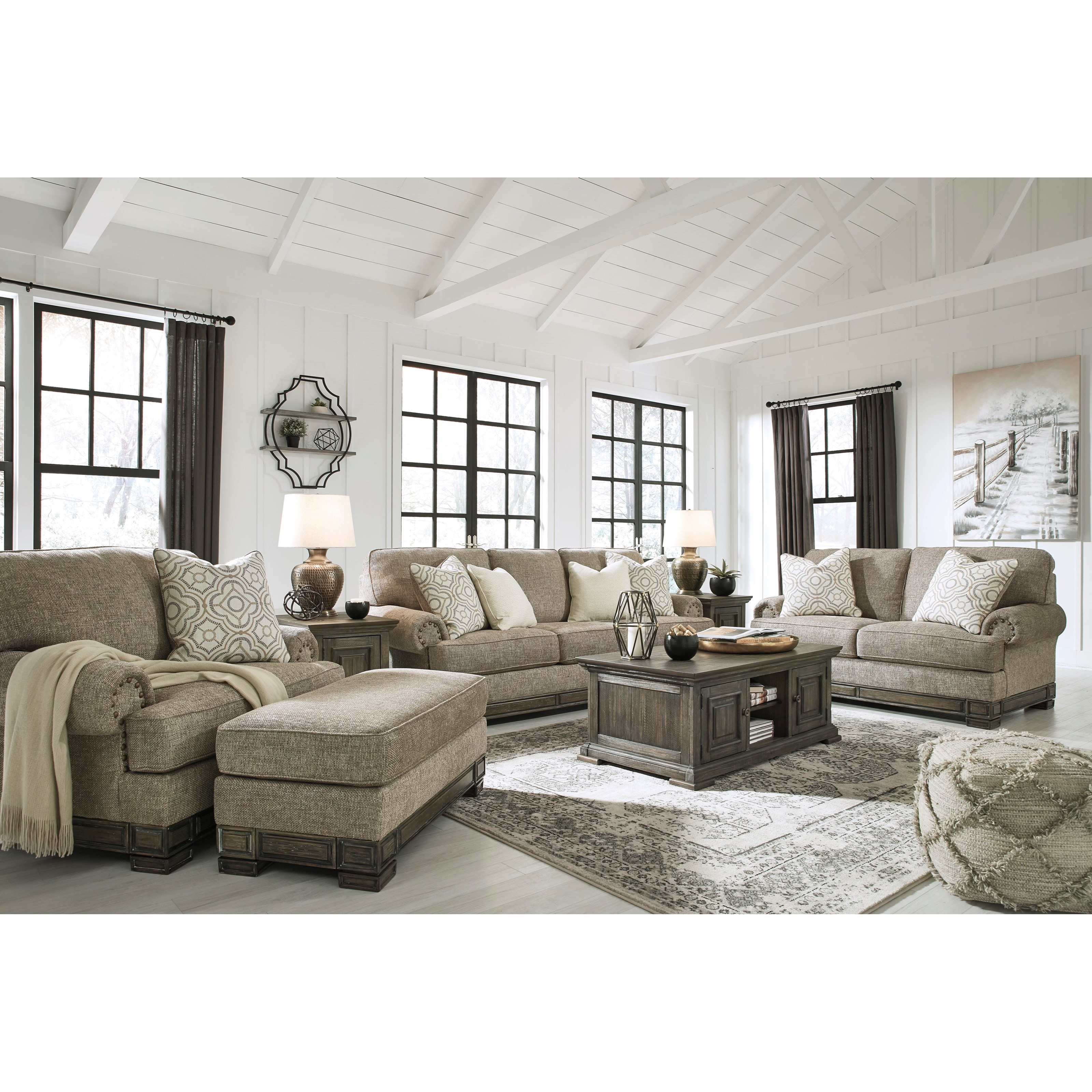 Einsgrove Stationary Living Room Group by Signature Design by Ashley at Northeast Factory Direct