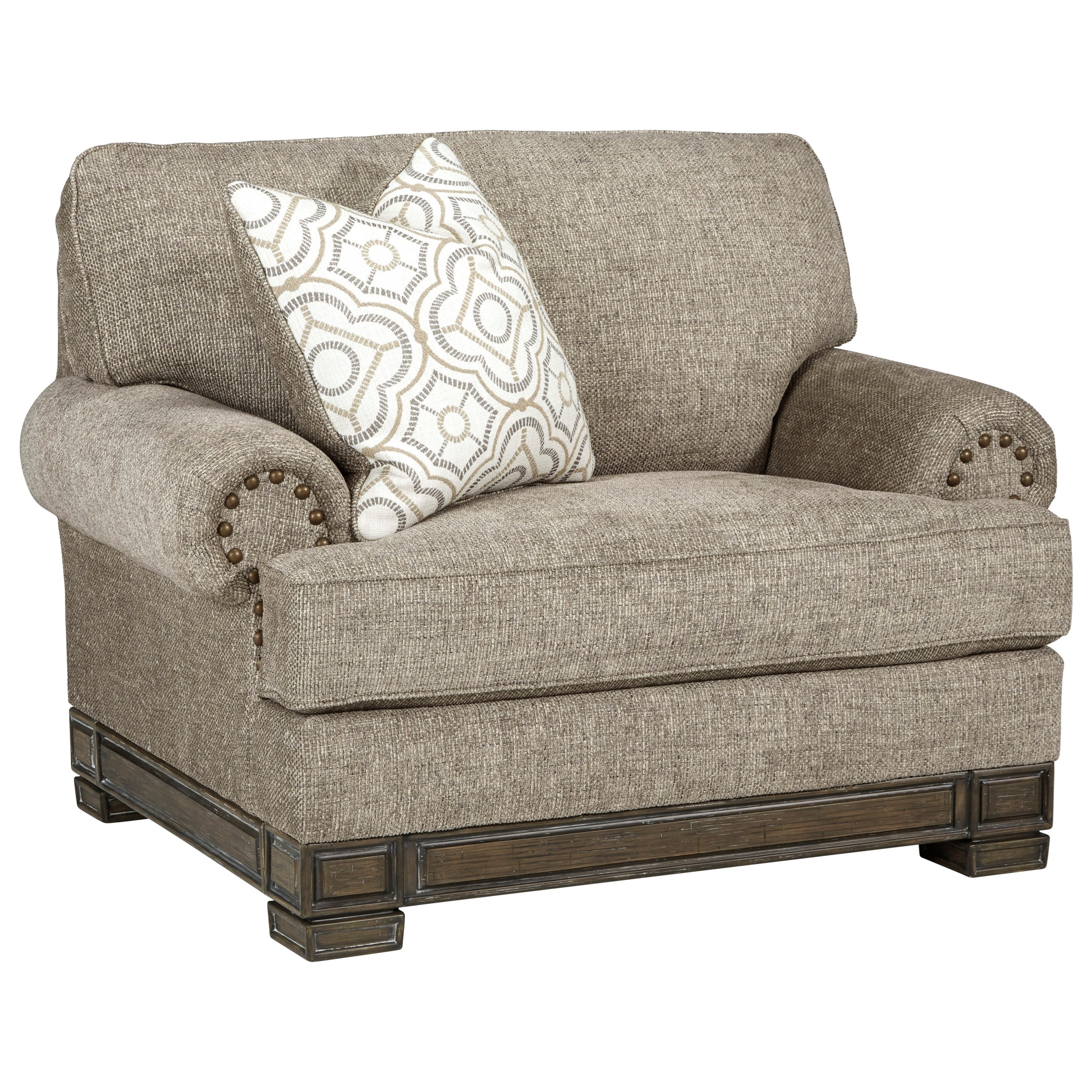 Einsgrove Chair and a Half by Signature at Walker's Furniture