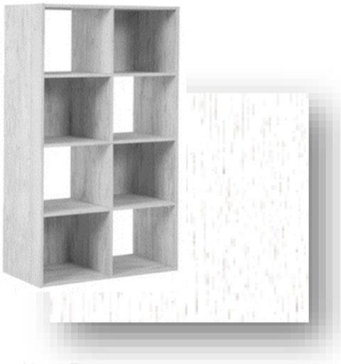 Ellivern 8 Cube Organizer by Signature Design by Ashley at Sam Levitz Furniture