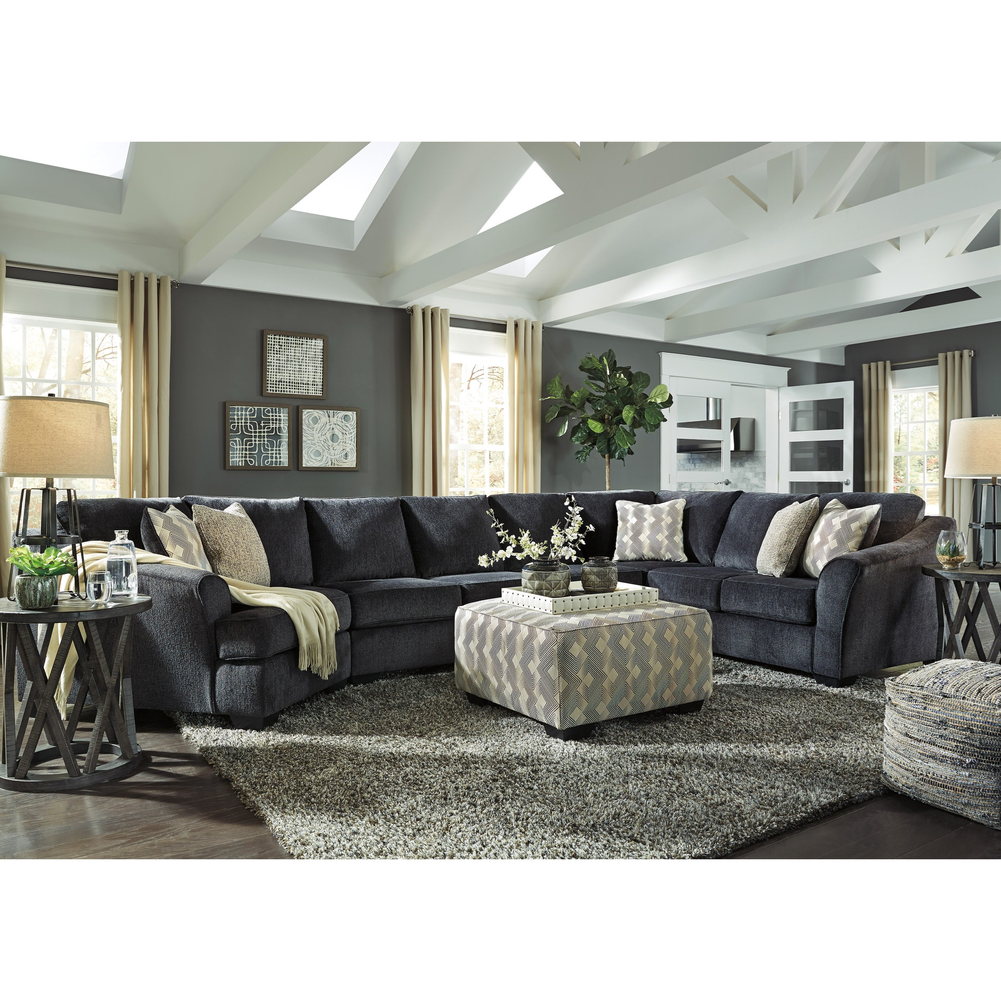 Eltmann Stationary Living Room Group by Signature Design by Ashley at Northeast Factory Direct