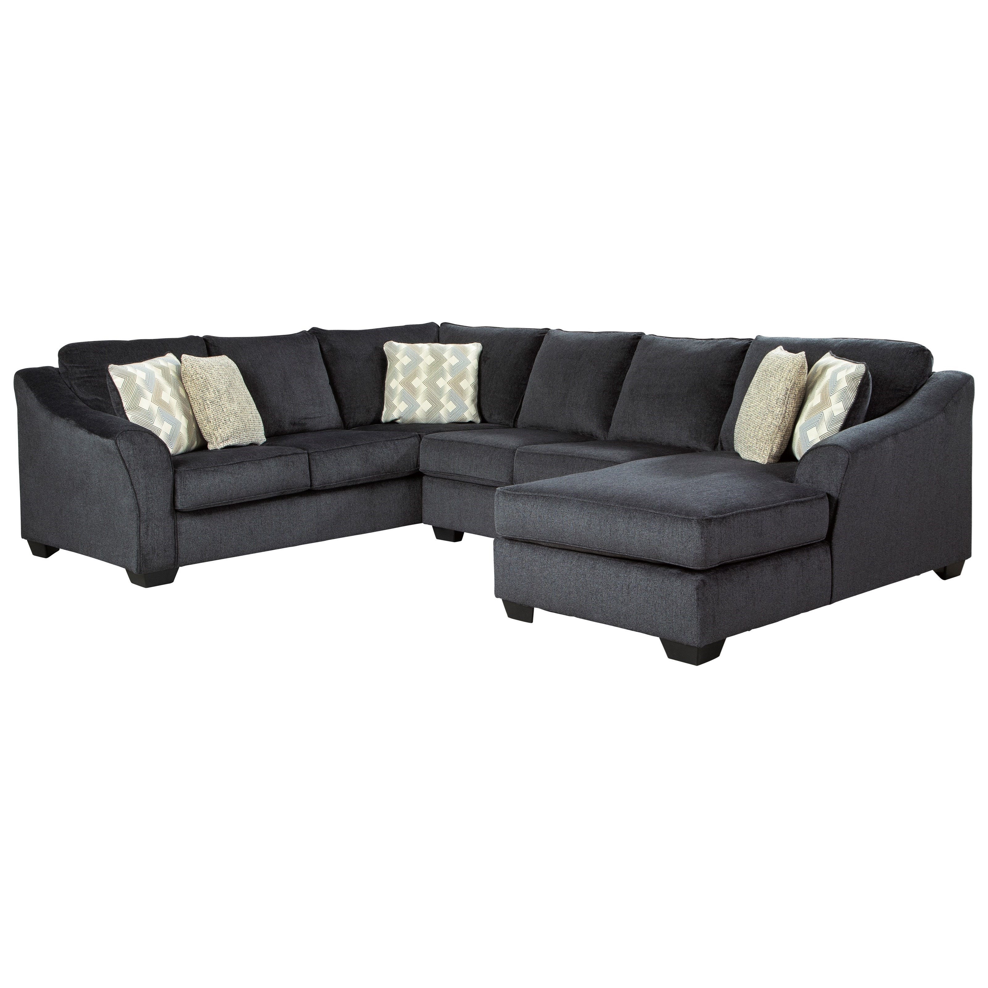 Eltmann 3-Piece Sectional by Signature at Walker's Furniture