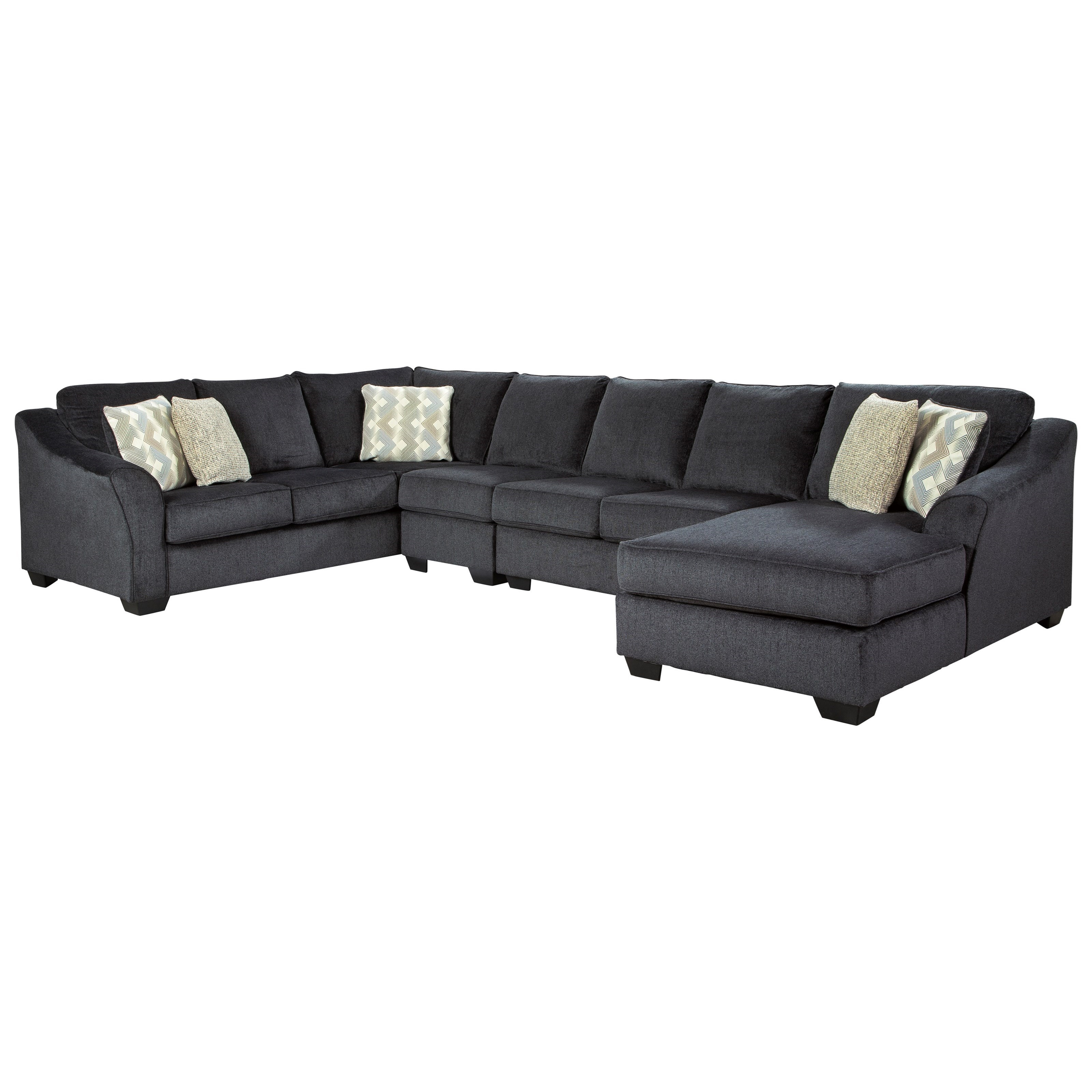 Eltmann 4-Piece Sectional by Signature at Walker's Furniture