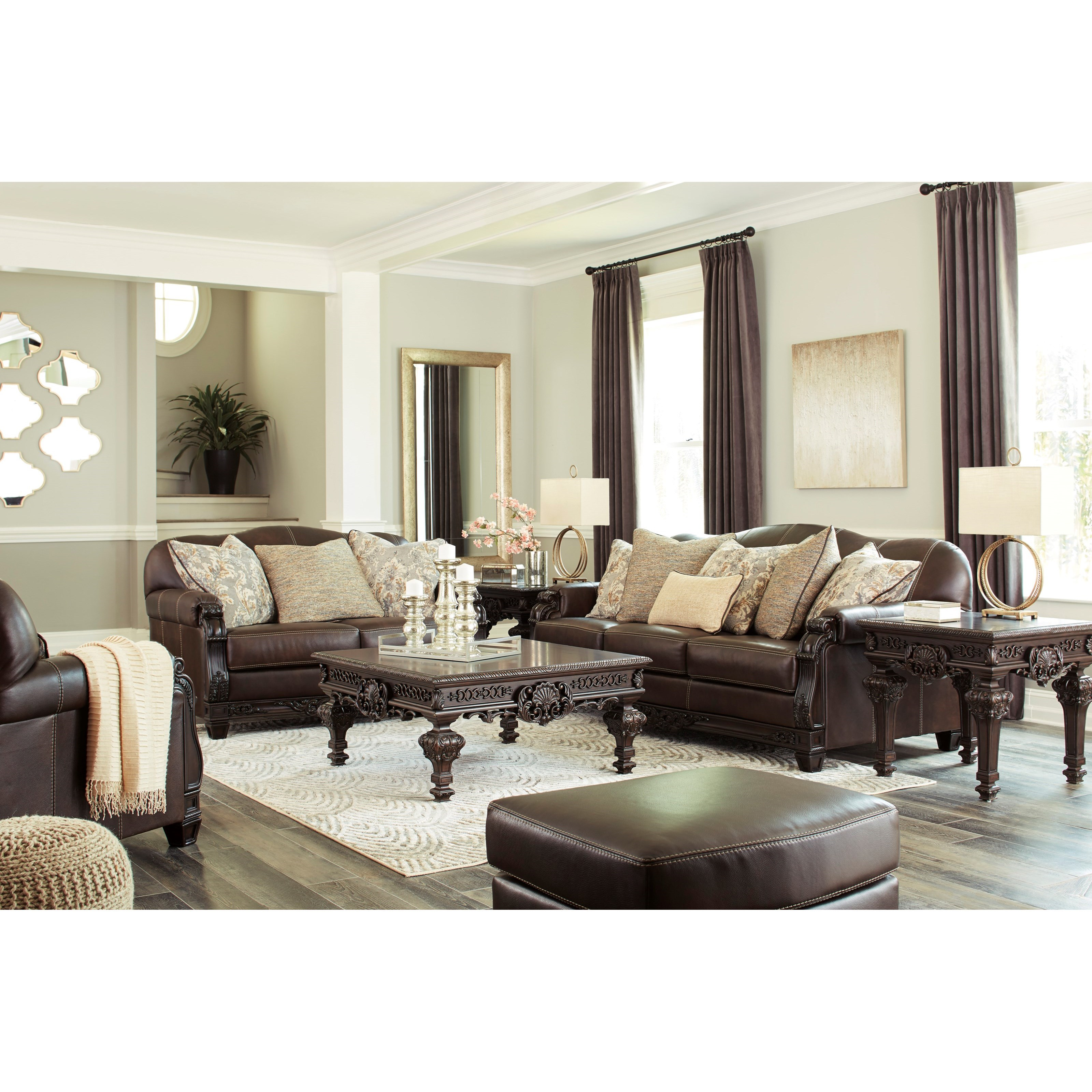 Embrook Stationary Living Room Group by Signature Design by Ashley at Northeast Factory Direct