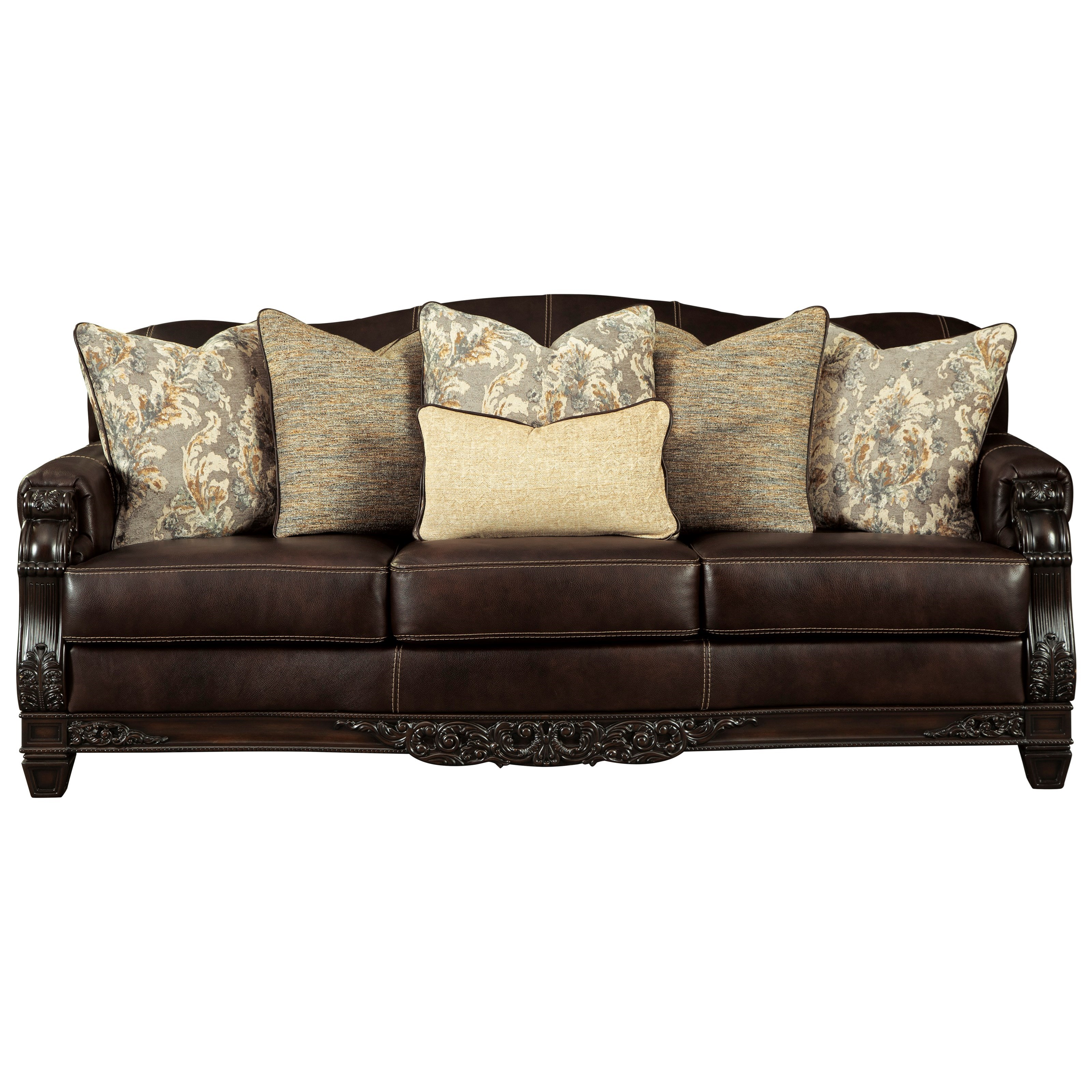 Embrook Sofa by Signature Design by Ashley at Lapeer Furniture & Mattress Center