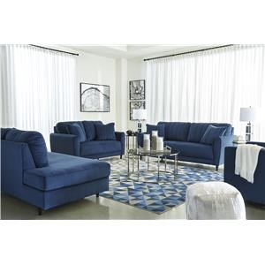 Ink Sofa, RFA Chaise and Swivel Chair Set