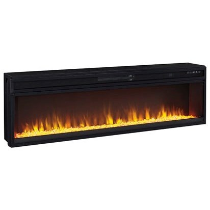 Entertainment Accessories Wide Fireplace Insert by Signature Design by Ashley at HomeWorld Furniture