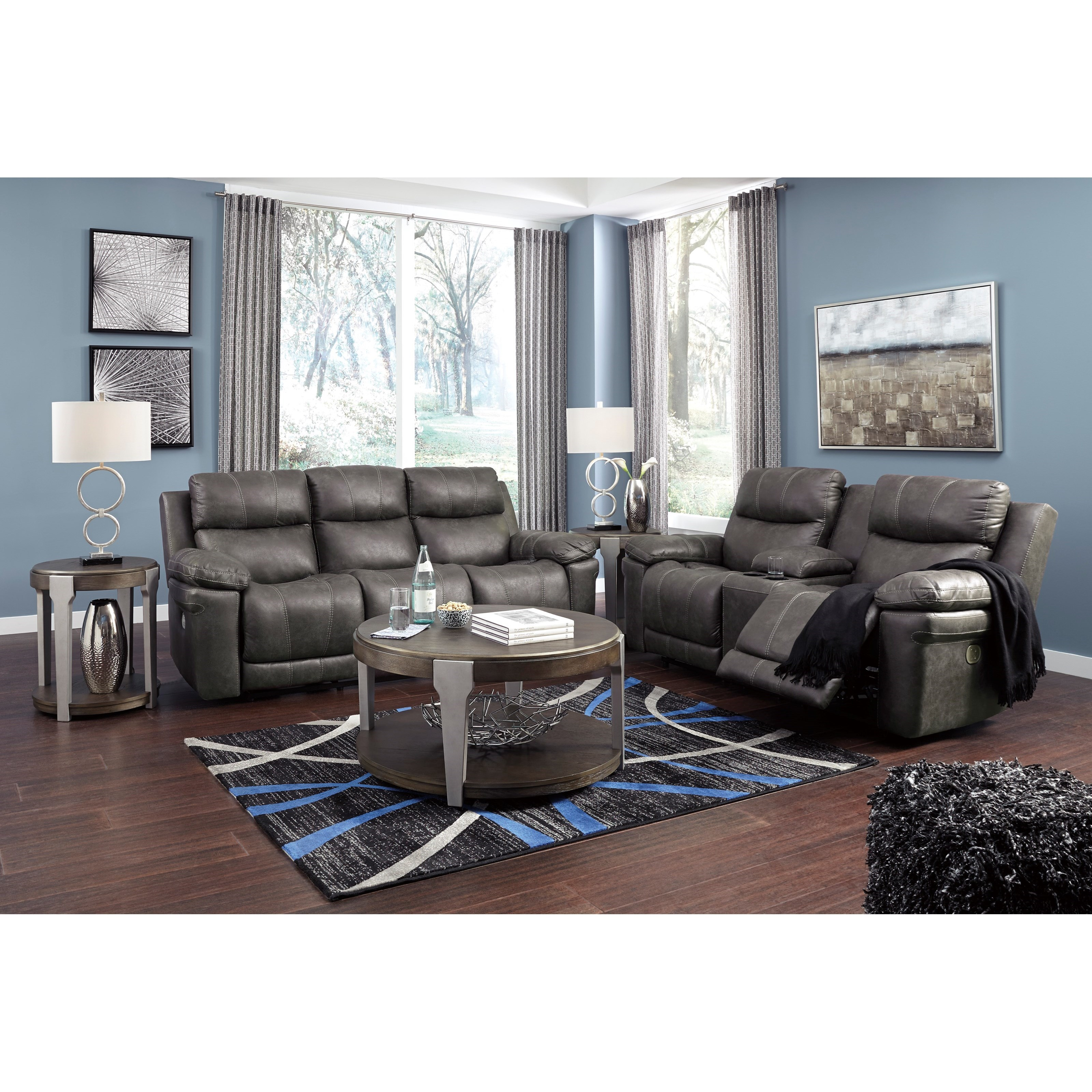 Erlangen Reclining Living Room Group by Signature Design by Ashley at Northeast Factory Direct